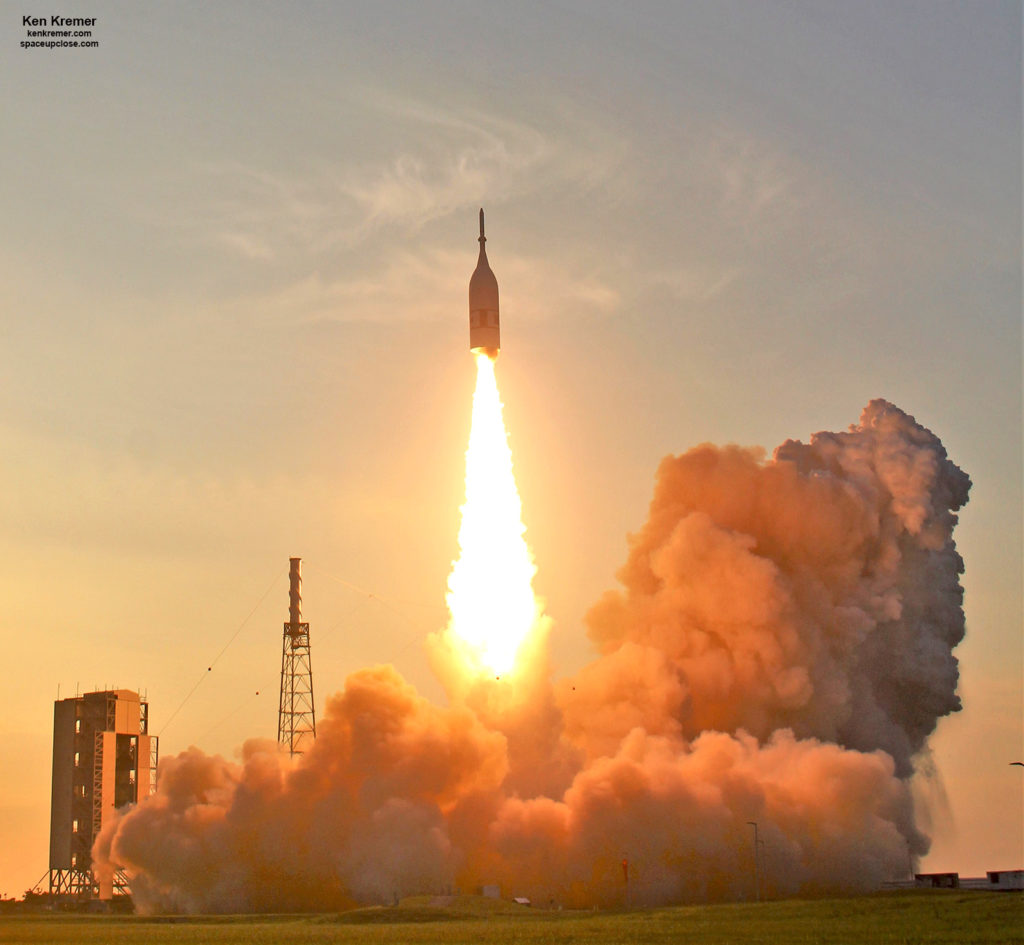 Stunning Sunrise Blastoff Of NASA's Orion In-Flight Abort Test Flight: Gallery