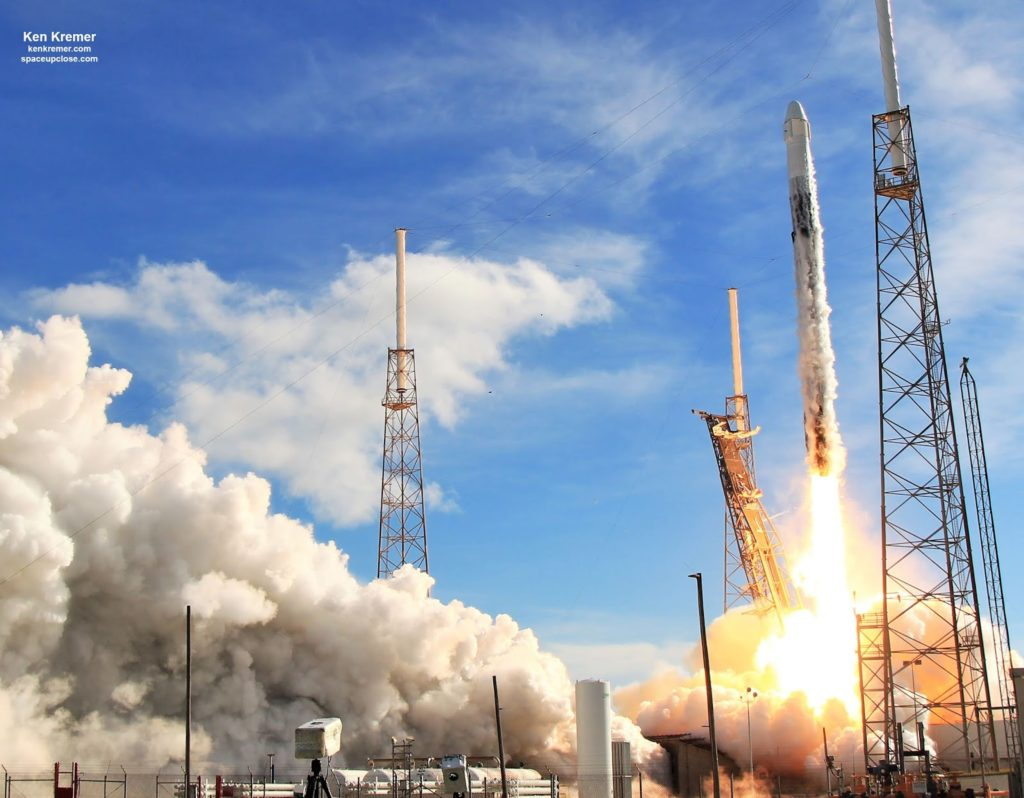 Photos: SpaceX Falcon 9 Blasts Off on Beautiful Dragon Resupply Mission to ISS
