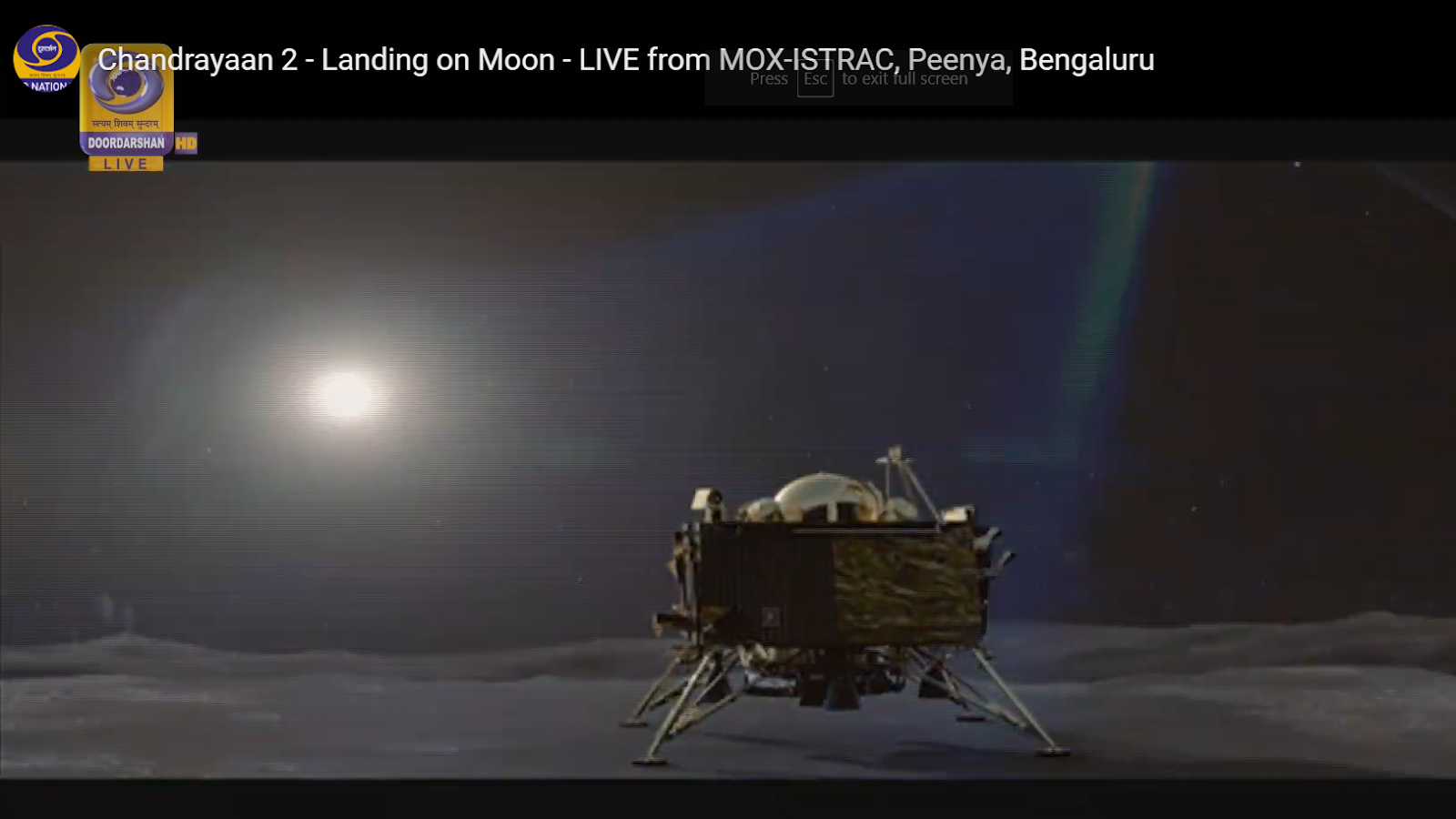 India Finds Vikram Lander on Moon with Attempts to Make Contact In Progress