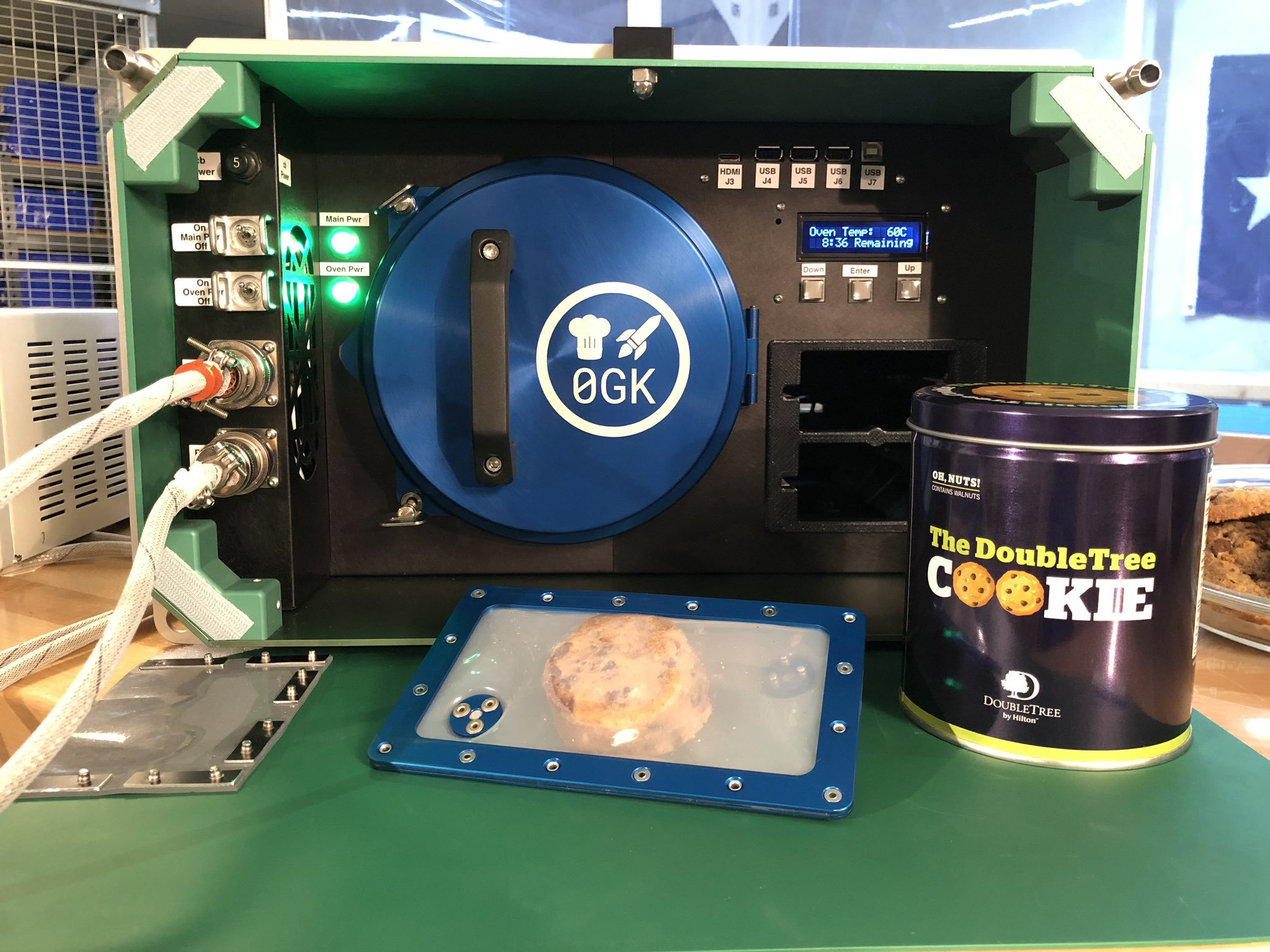 Bringing the Taste of Home To Space – Baking Cookies in Zero-G on ISS
