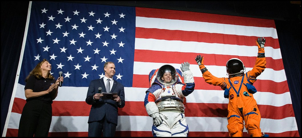 NASA Unveils Artemis Generation Spacesuits for Moon Journey and South Pole Landing