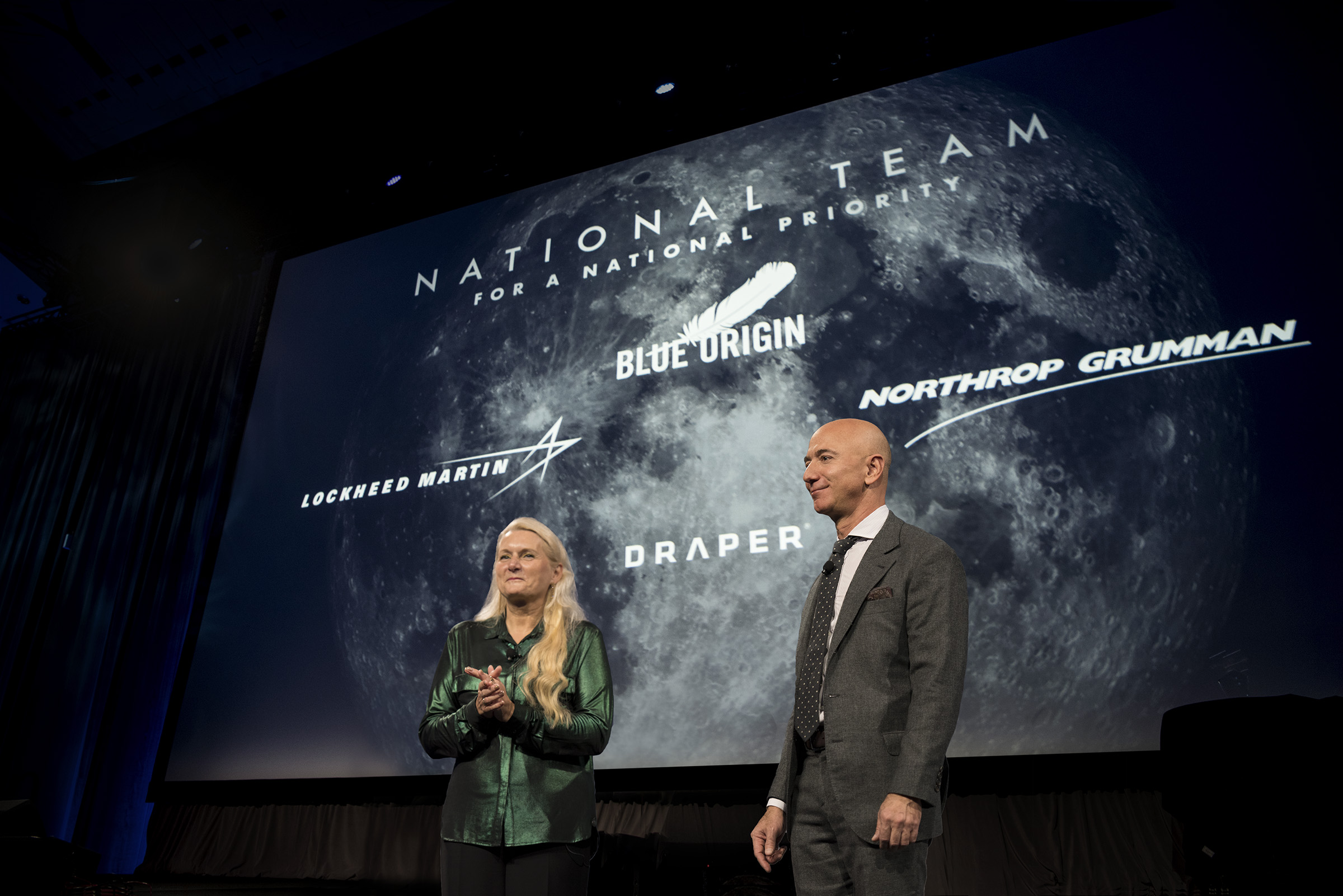 Blue Origin Announces National Team for Lunar Lander