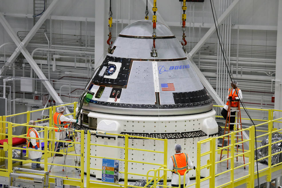 Boeing Starliner Coming Together for Dec 17 Launch