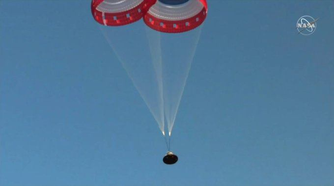 Boeing Completes Starliner Pad Abort Test but 1 Parachute Fails to Deploy