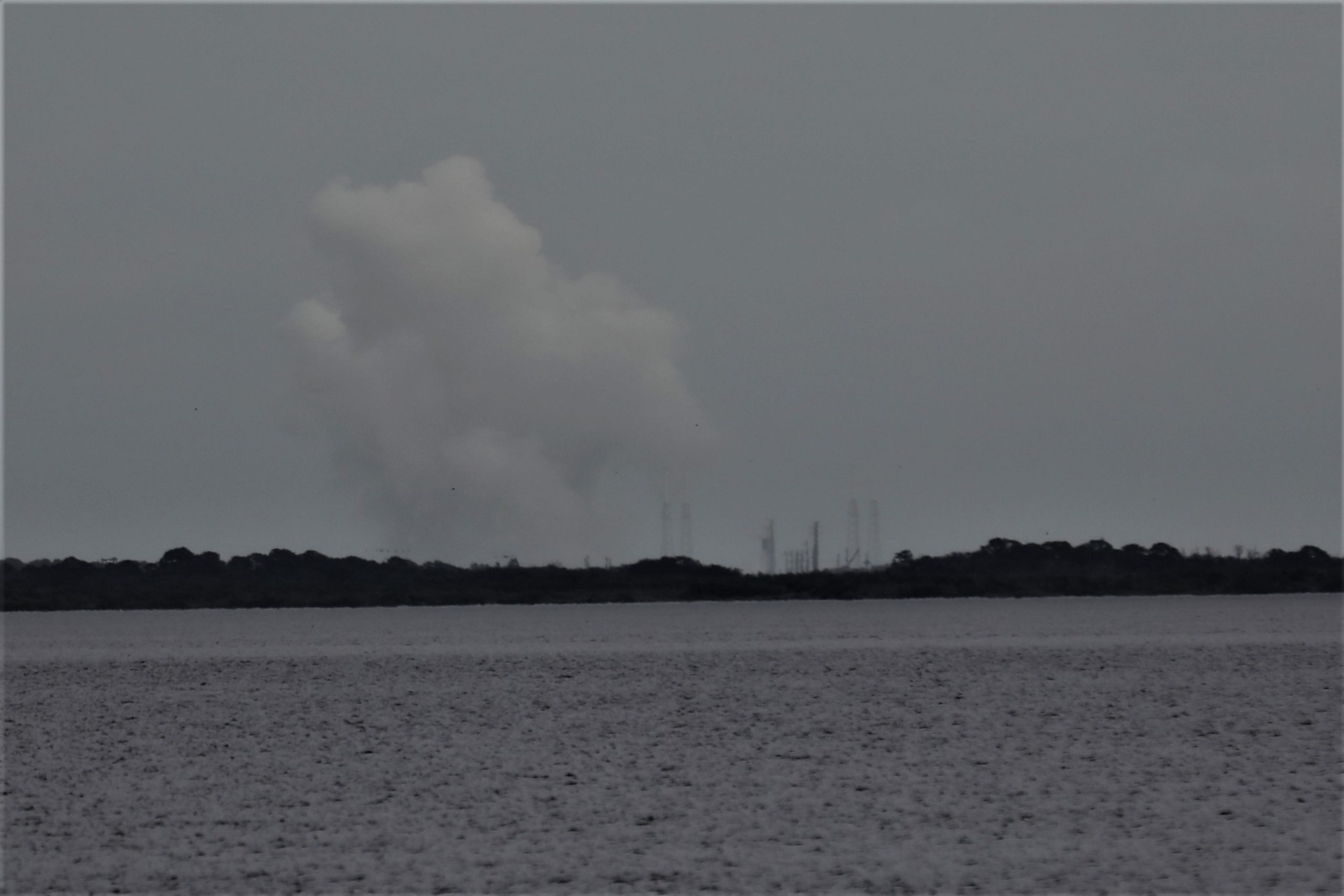 Friday the 13th Falcon 9 Static Fire Test Under Gloomy Skies Sets up SpaceX JCSAT-18 Comsat Launch Dec 16: Photos