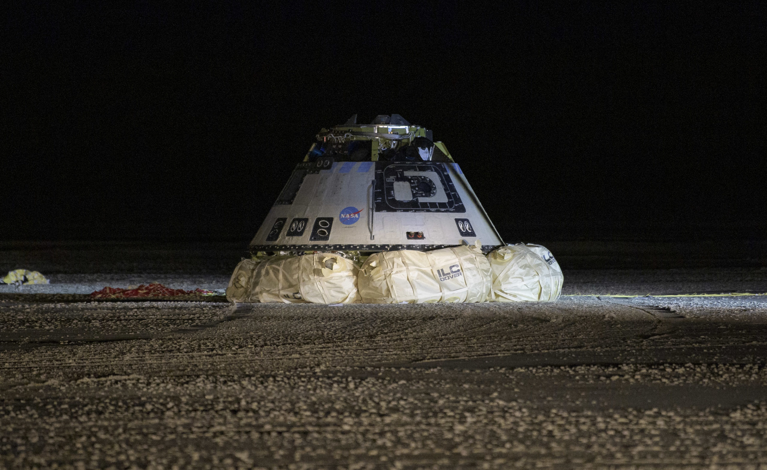 Starliner Lands Safely after Skipping ISS Visit