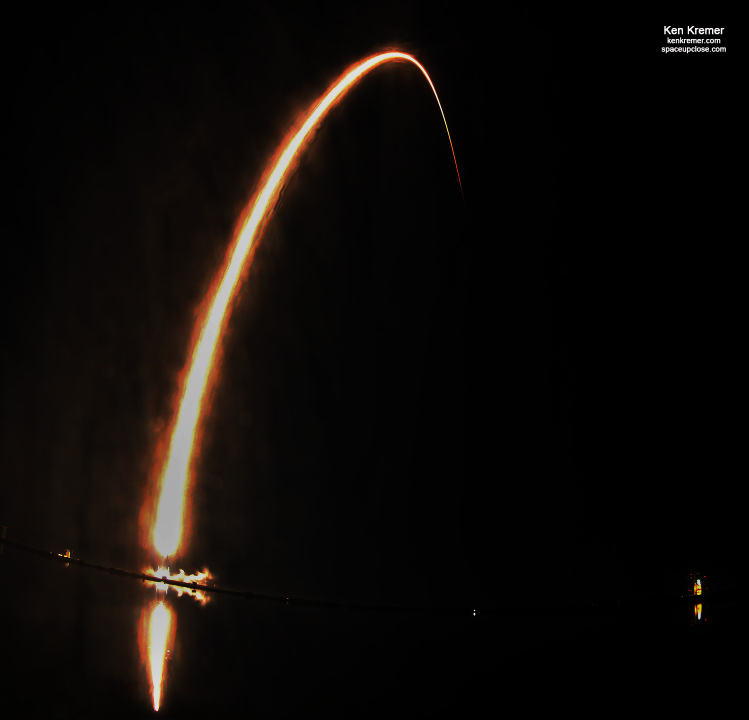 1st Launch of 2020 Streaks to Orbit with 3rd Set of SpaceX Starlink Satellites, Booster Lands