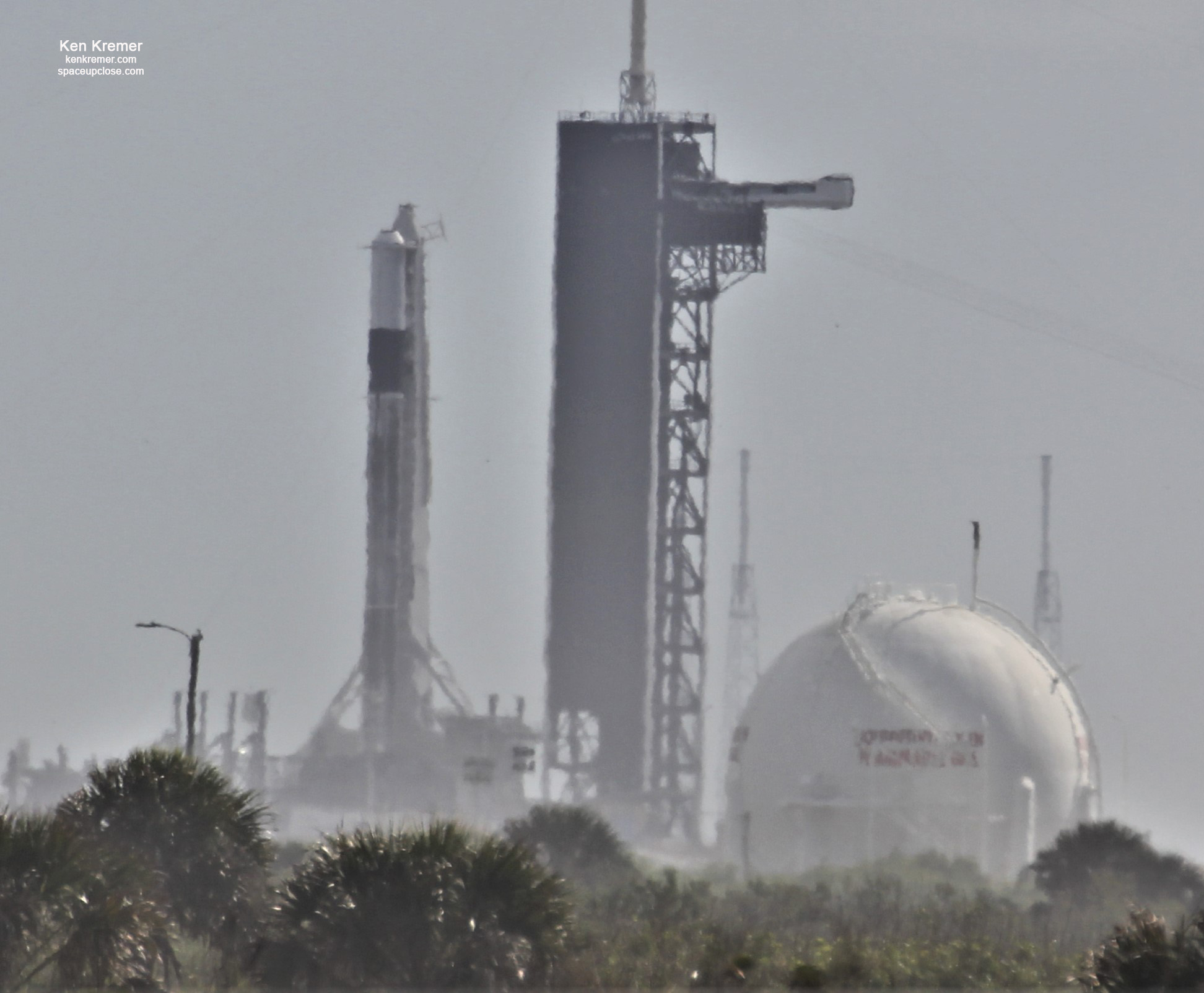 SpaceX Rolls out and Raises Falcon 9 for Test Fire of Crew Dragon In-Flight Abort Test, KSC Launch Reset to Jan 18