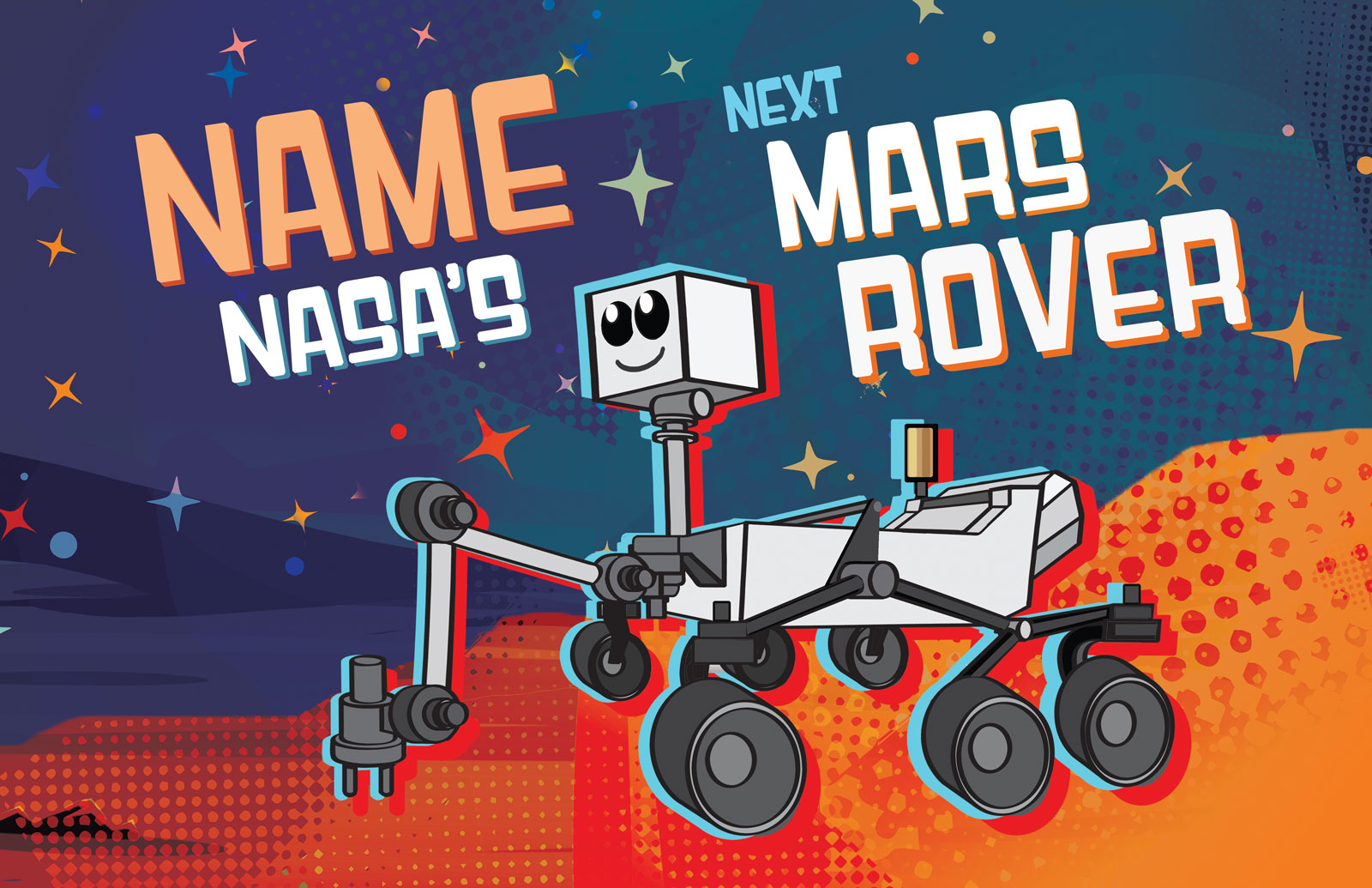 Nine Finalists Selected for NASA's Mars 2020 Rover Naming Contest