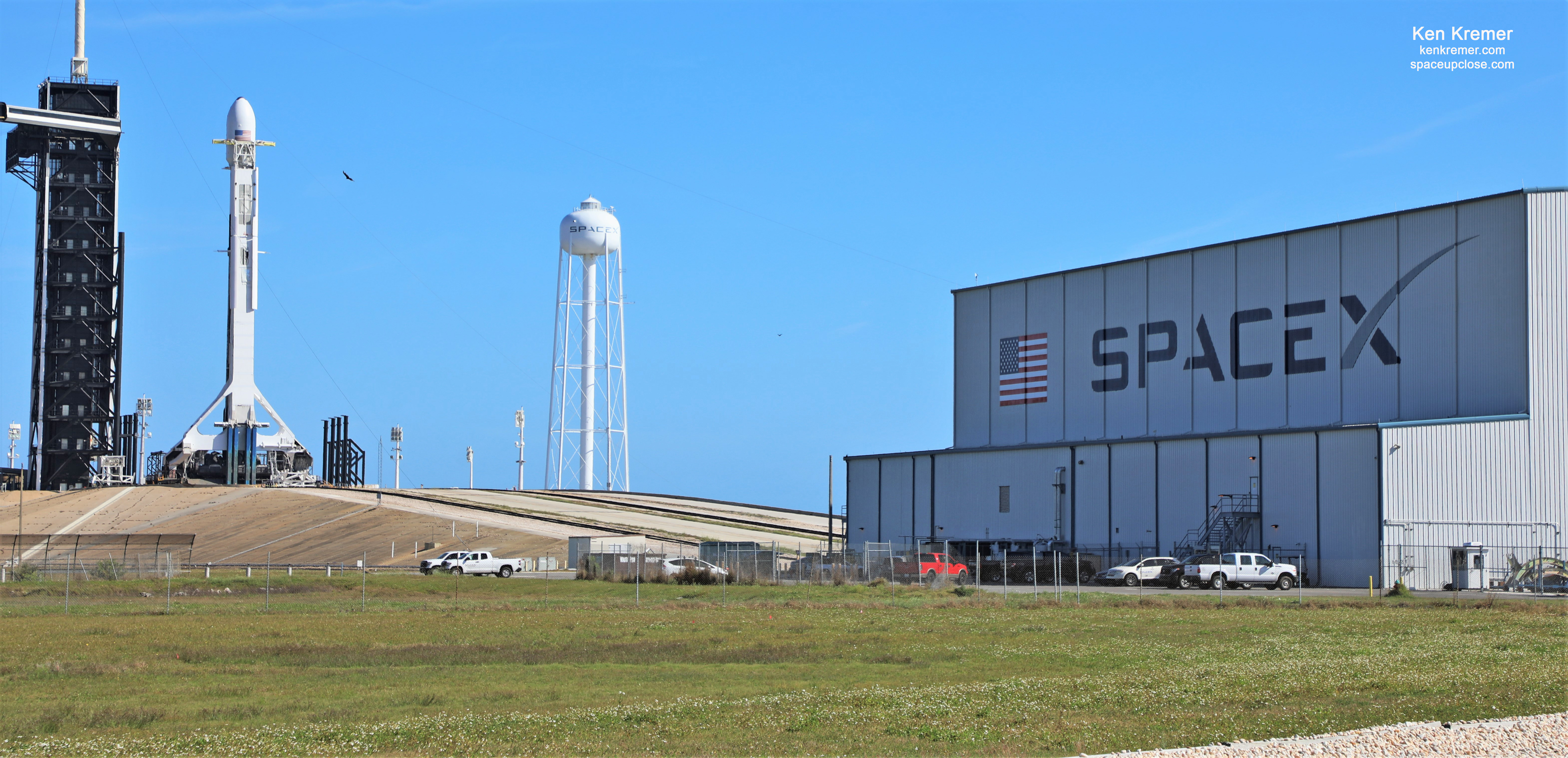 SpaceX Poised for Liftoff of 1st 5th Launched Falcon 9 on Starlink Mission Sunday Morning March 15:  Watch Live/Pad Photos