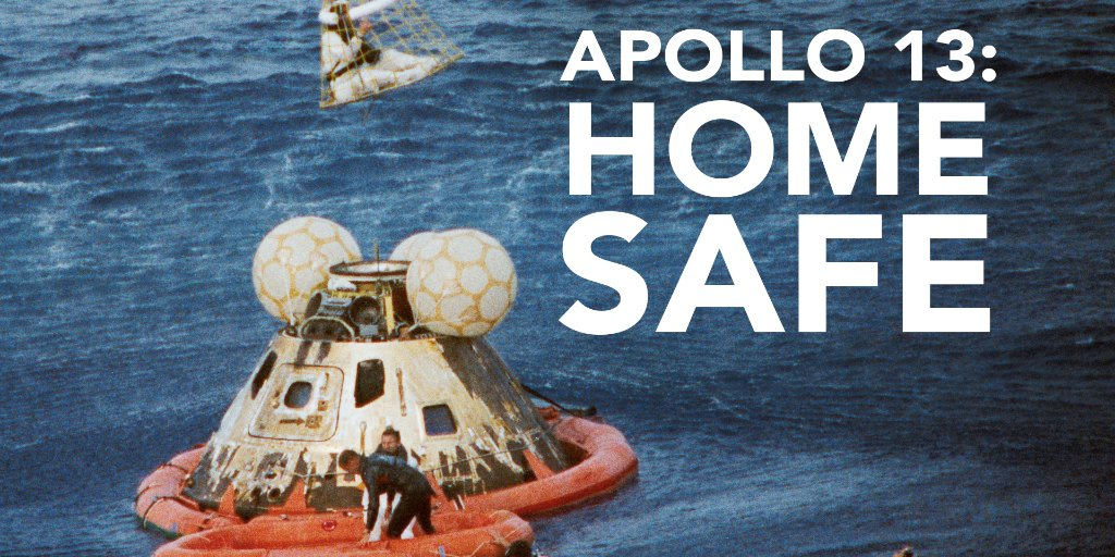 'Apollo 13: Home Safe:' Watch the NASA documentary  about the 'Successful Failure