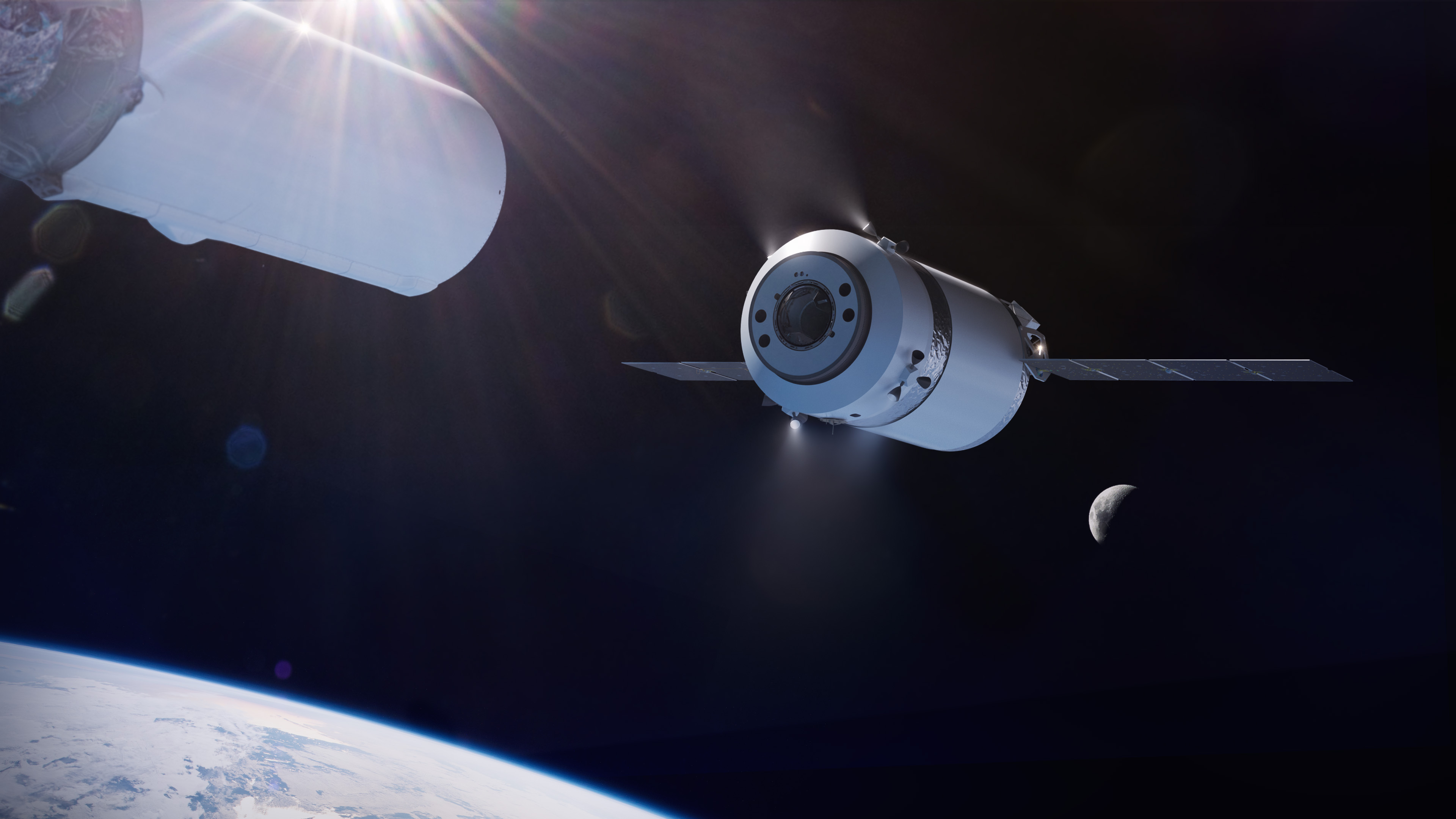 NASA Chooses SpaceX for Commercial Logistics Services for Artemis Lunar Gateway