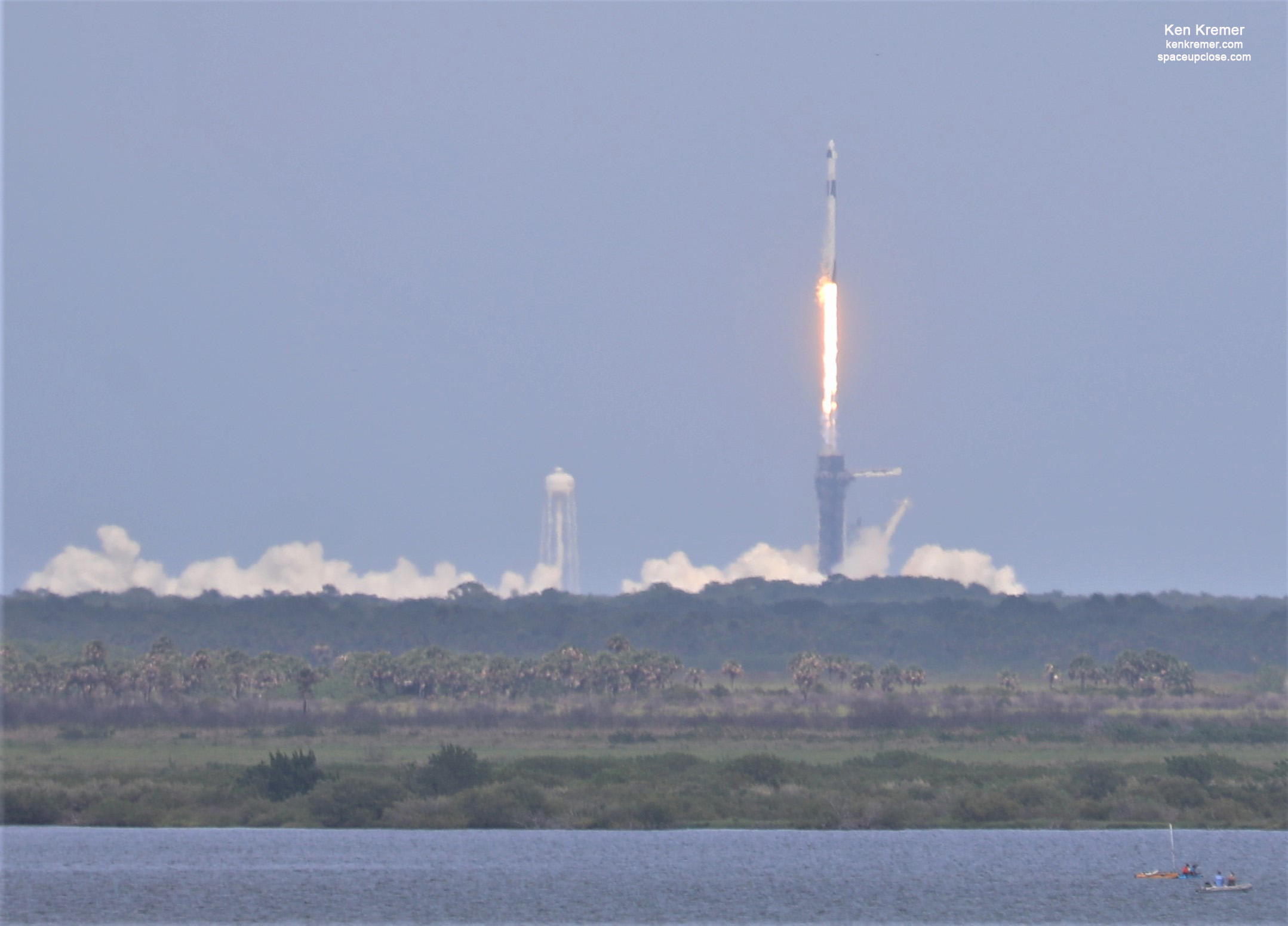 NASA Astronauts Aboard SpaceX Dragon Launch from US Soil 1st Time in 9 Years