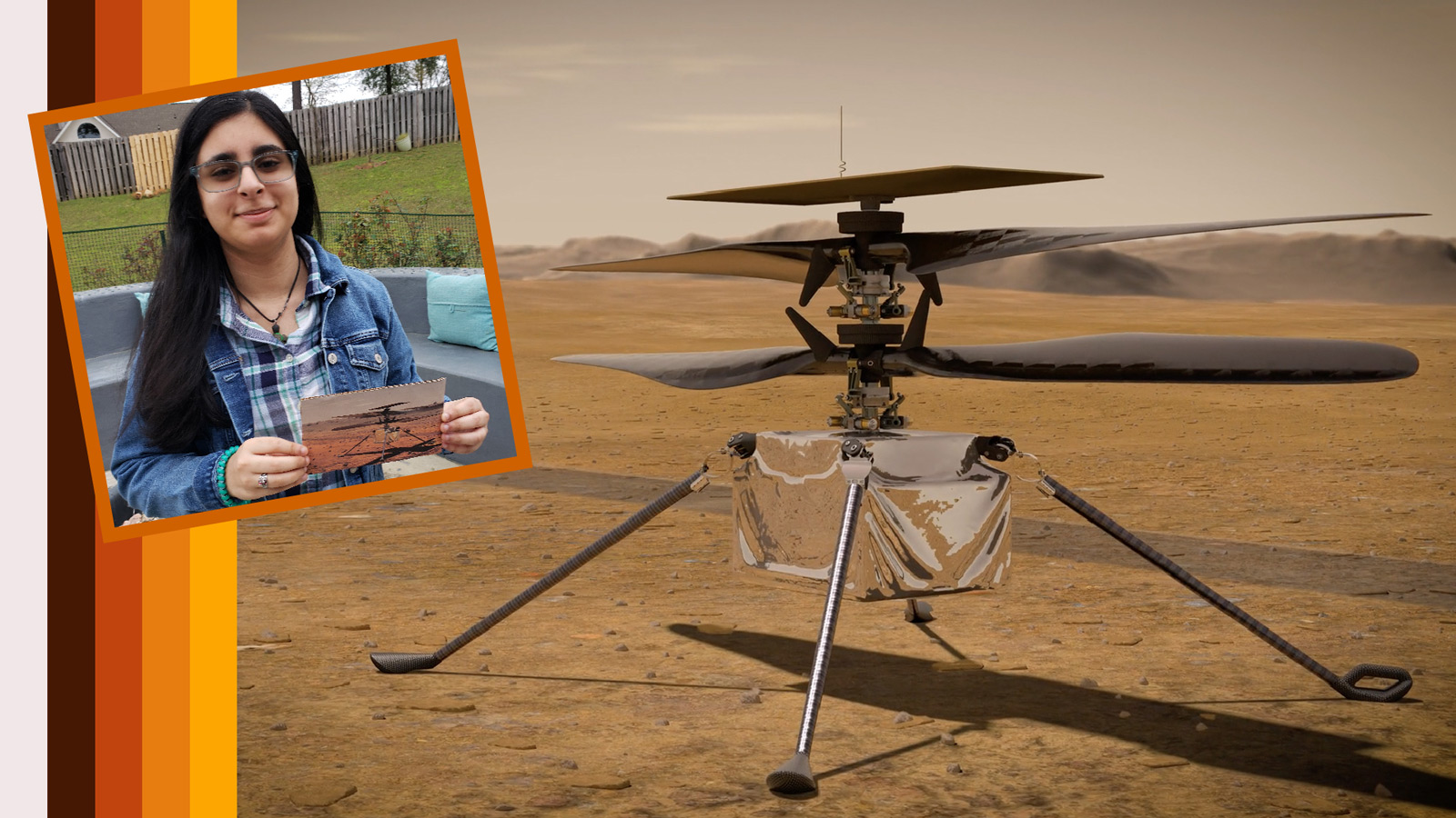 Ingenuity – Alabama High School JuniortStudent Names 1st Ever Red Planet Helicopter for NASA's Mars 2020 Rover Perseverance