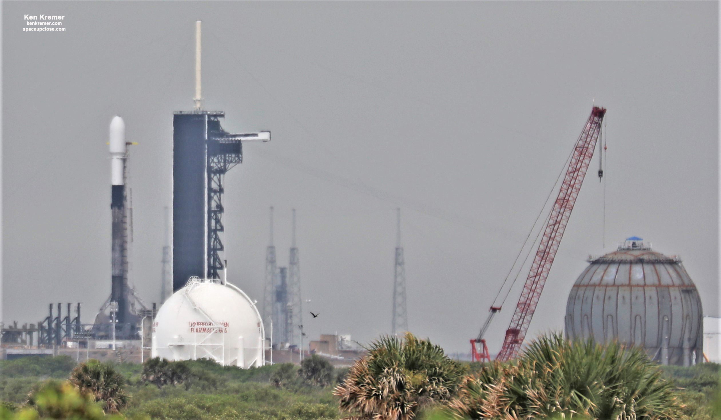 SpaceX Scrubs Next Starlink Falcon 9 Launch 3 Hours Before Liftoff, New Date TBD