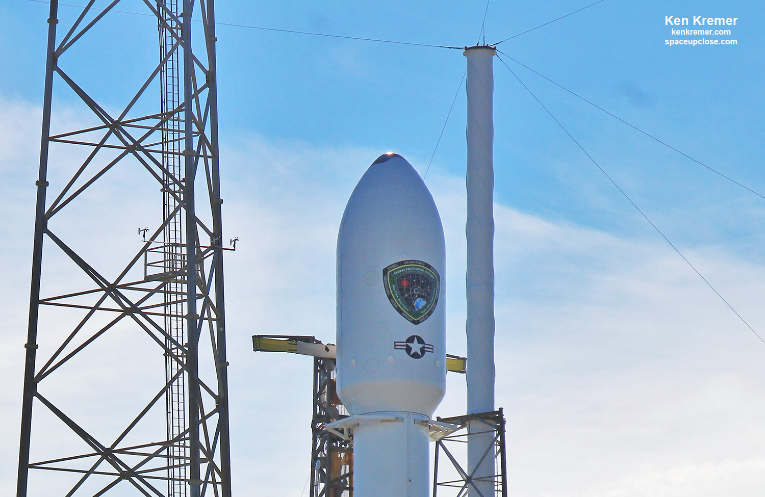GPSIII-SV03 Navsat for US Space Force Encapsulated for Launch June 30