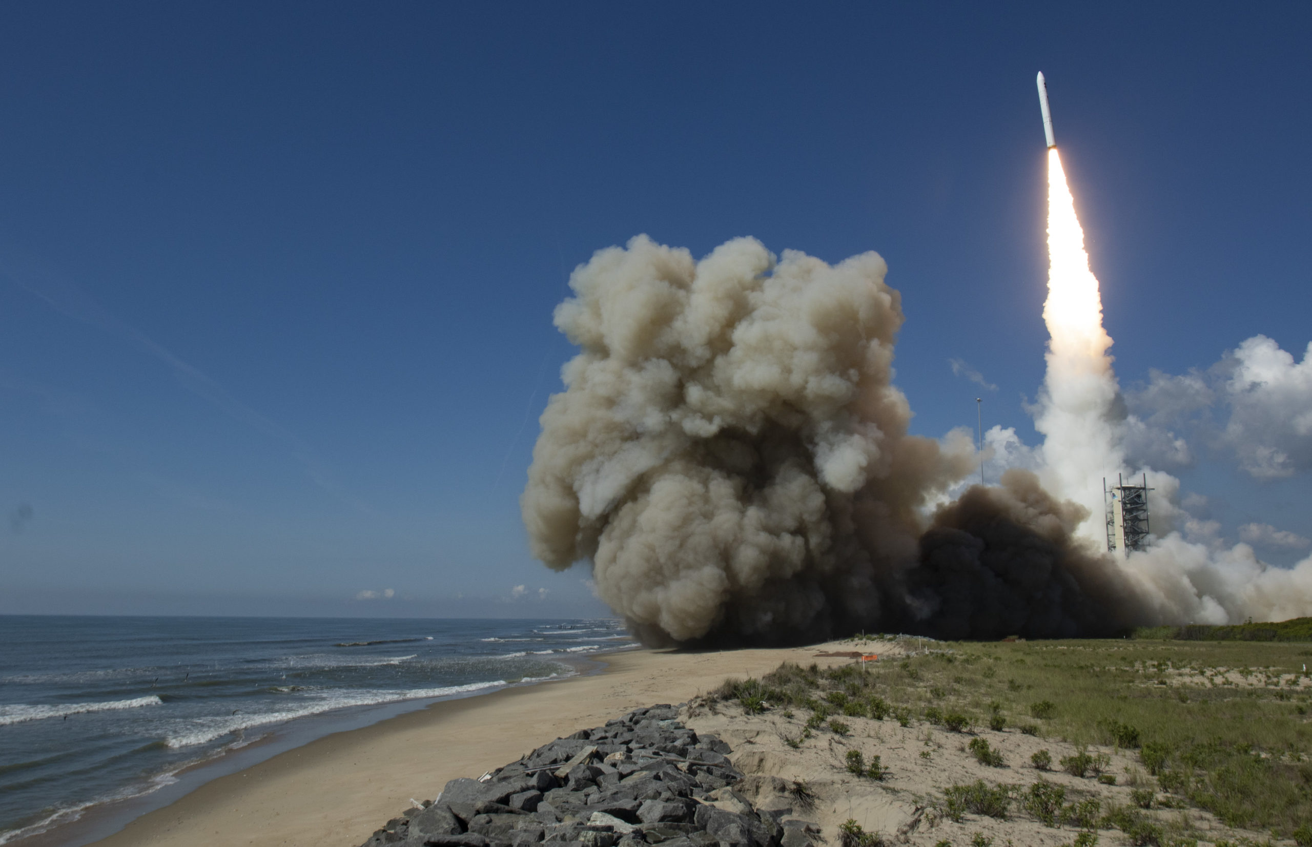 Minotaur IV Launches 1st Classified NRO mission from NASA Wallops