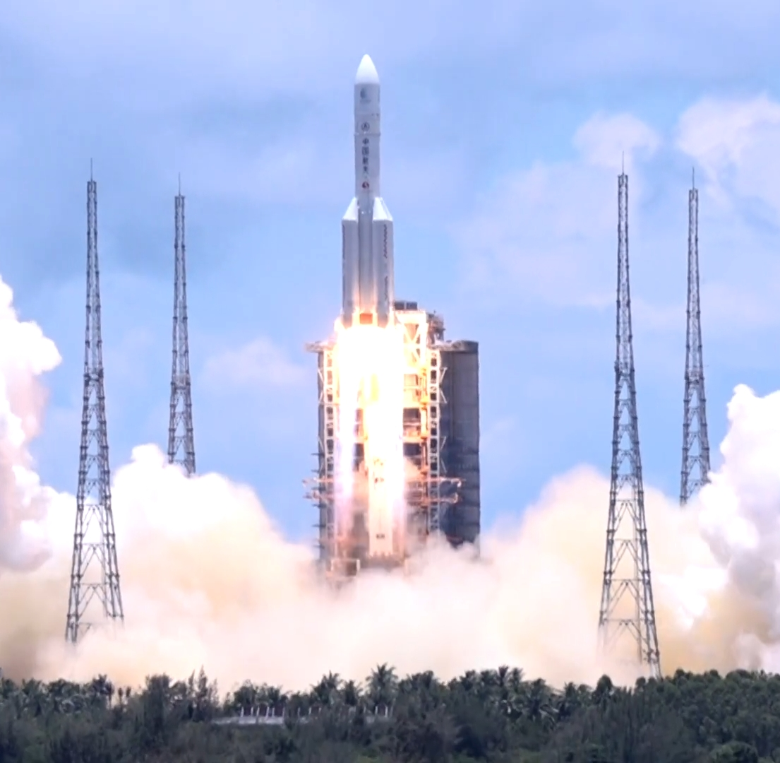 China Launches Ambitious Tianwen-1 Robotic Mission to Orbit, Land and Rove the Red Planet