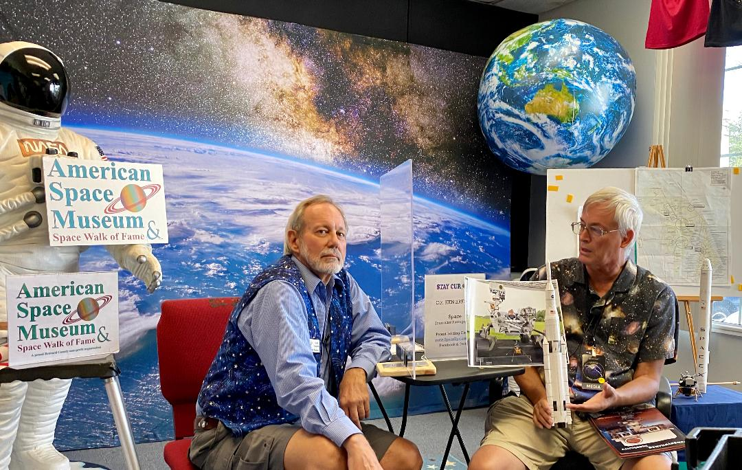 Video: Space News Update with Space Journalist Dr. Ken Kremer at 'Stay Curious' on Sept. 18 Hosted by American Space Museum