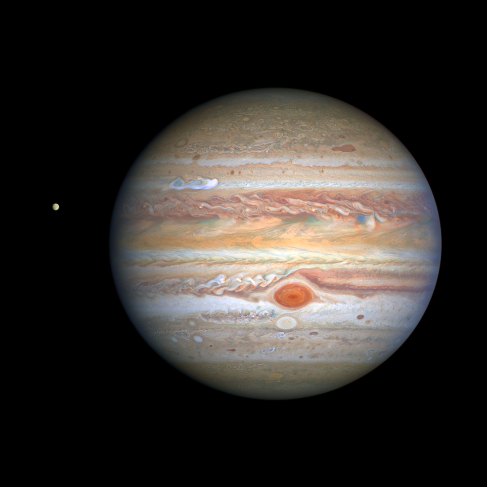 Joyous Jupiter Shines in Spectacular Detail Unveiled by New Hubble Space Telescope Image