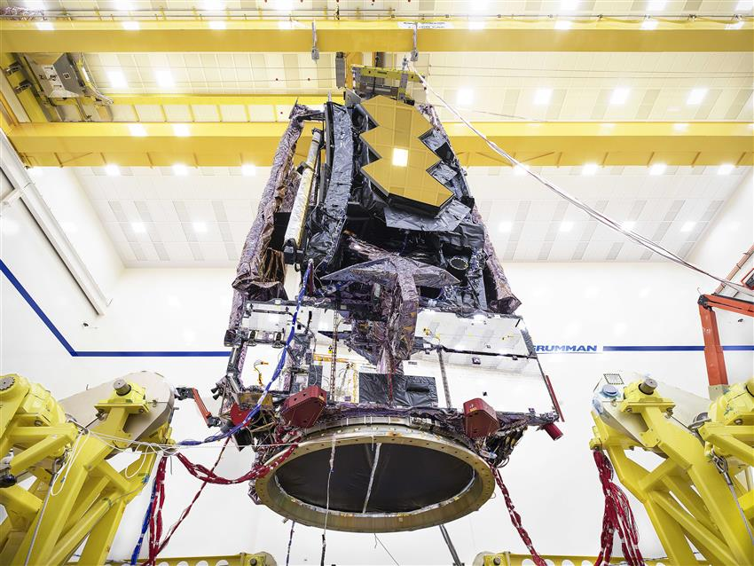 NASA Webb Space Telescope Completes Stress Testing Required for Rocket Launch