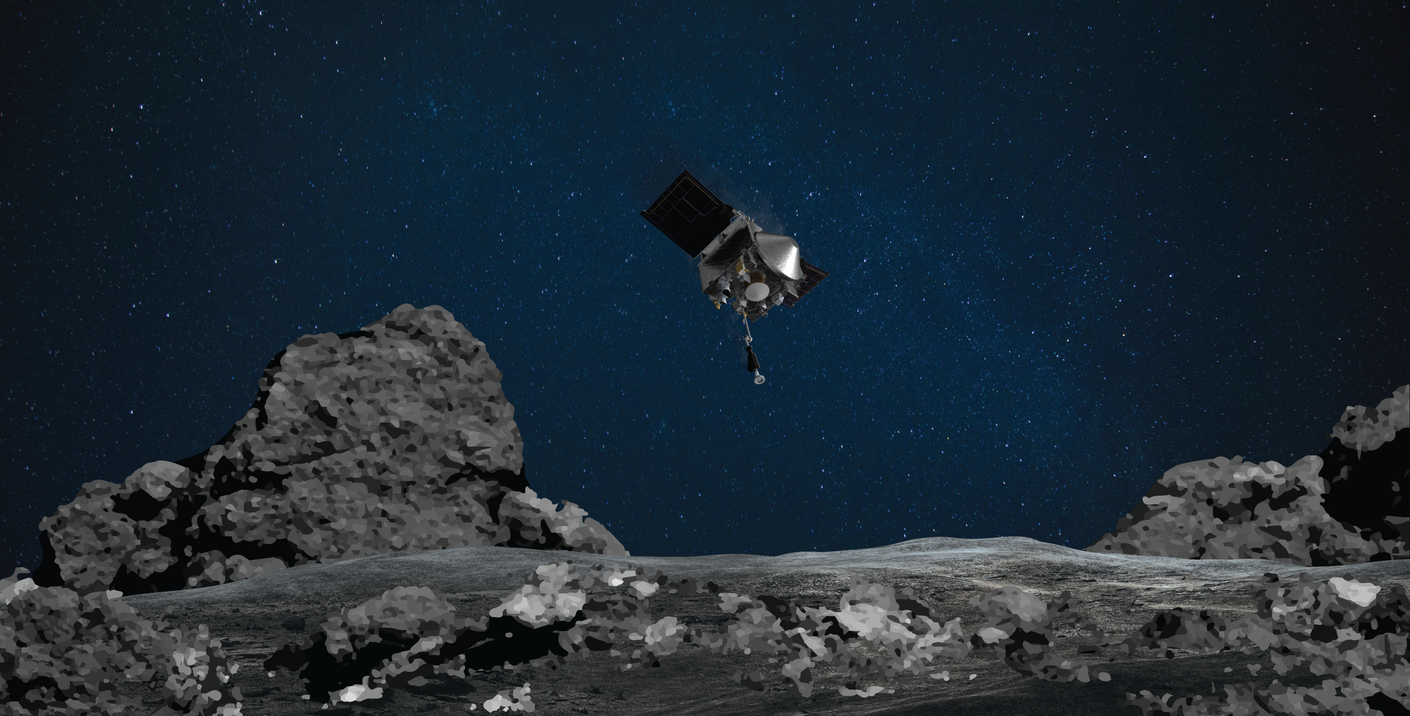 NASA's OSIRIS-REx Spacecraft Set for Sampling Attempt at Asteroid Bennu Oct. 20: Watch Live