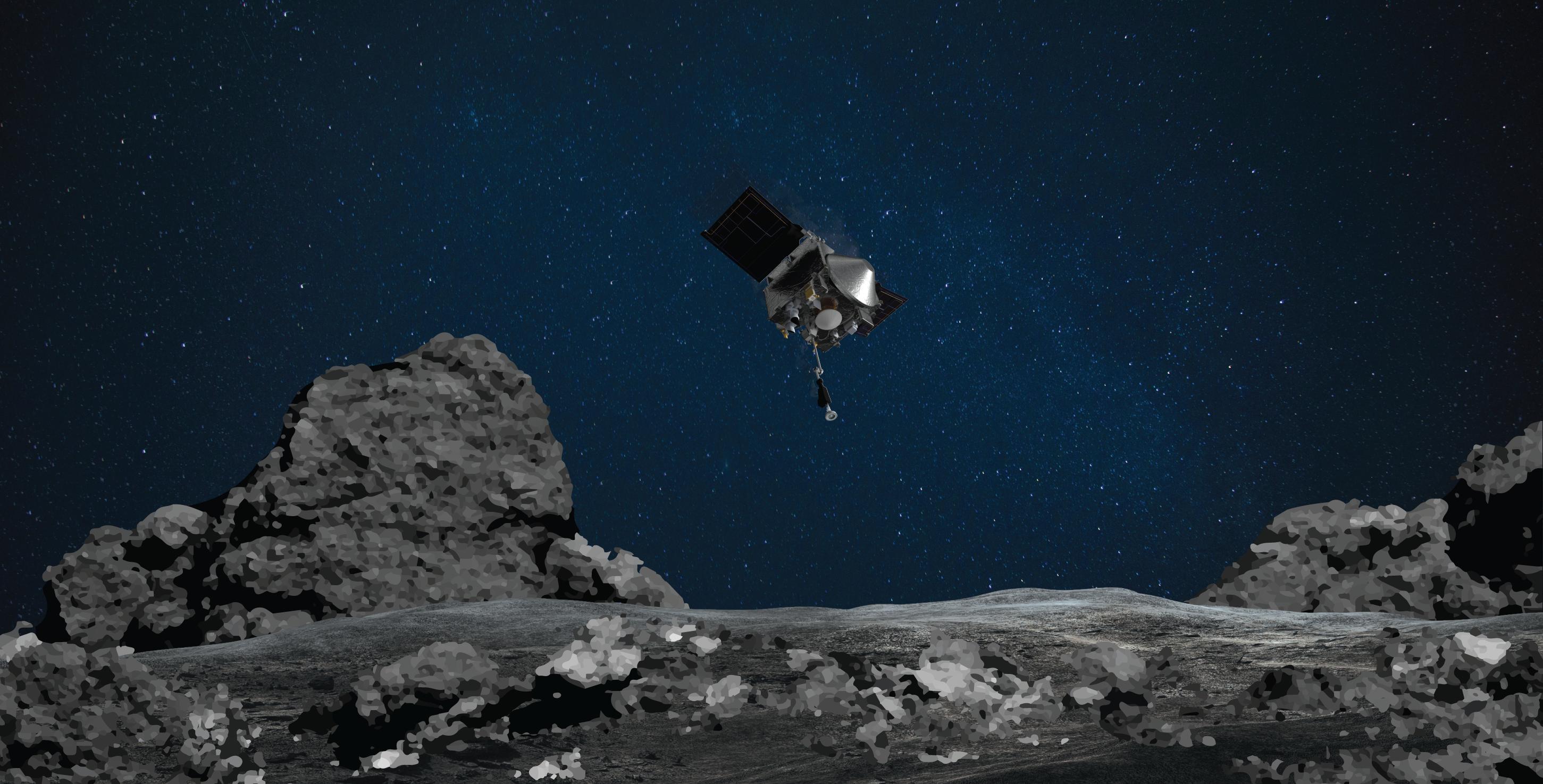 NASA's OSIRIS-REx Spacecraft Set for Sampling Attempt at Asteroid Bennu Oct. 20: Watch Live