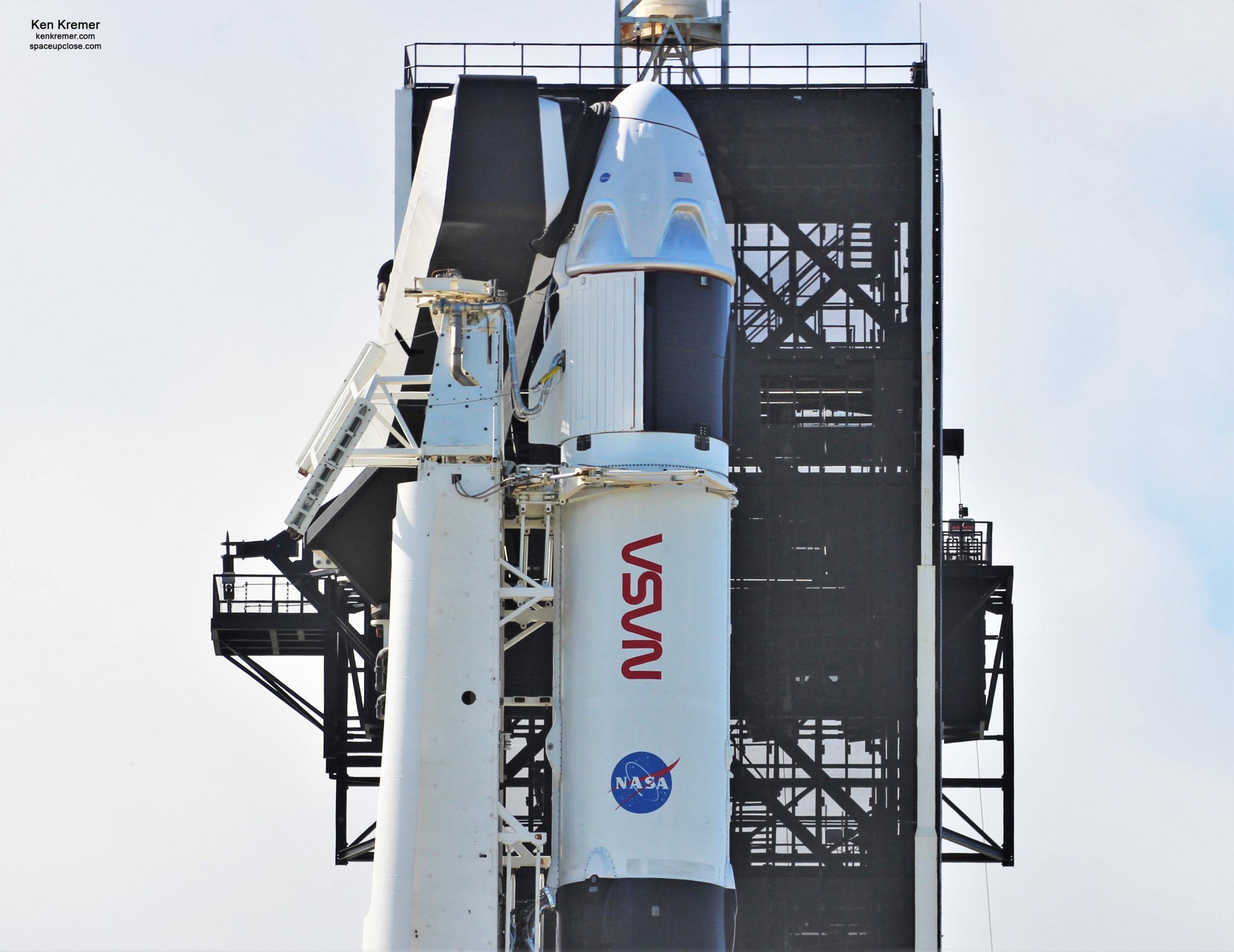 UpClose with Crew Dragon as NASA SpaceX Astronaut Launch Postponed to Nov. 15 for Weather Concerns: Photos
