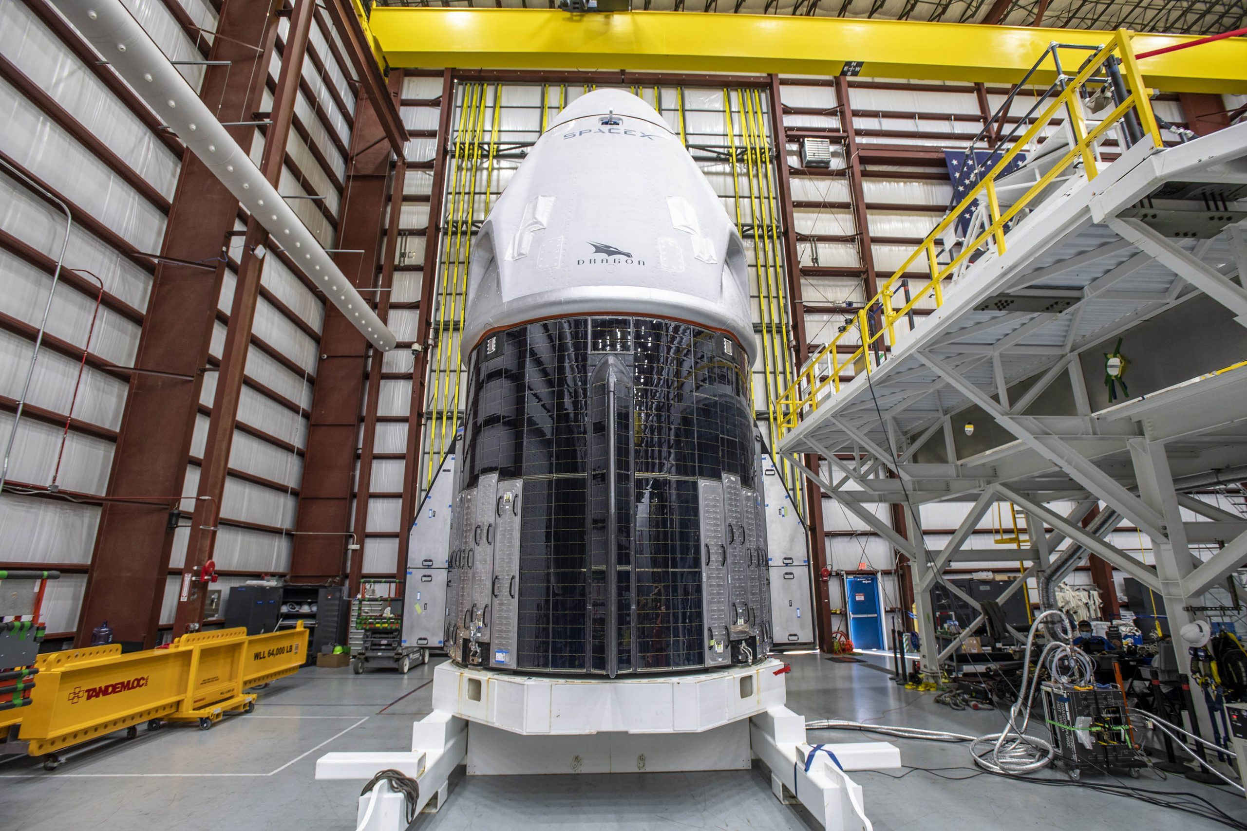 NASA Targets Crew 1 Launch for Nov. 14 and SpaceX Crew Dragon Arrives KSC Pad 39A