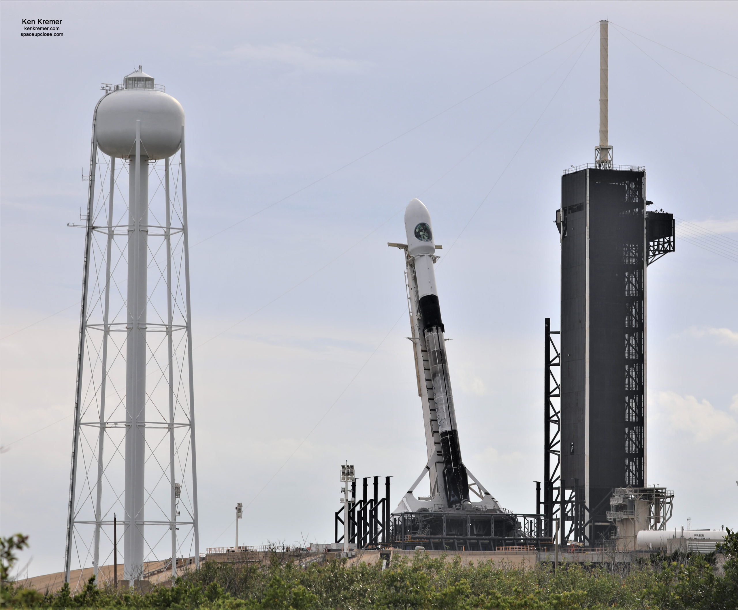 SpaceX Targets Dec. 17 Launch of NRO Spysat on Reused Booster: Photos/Watch Live