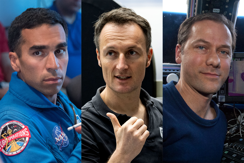 NASA and ESA Name 3 Astronauts to SpaceX Crew 3 Mission to ISS Launching 2021