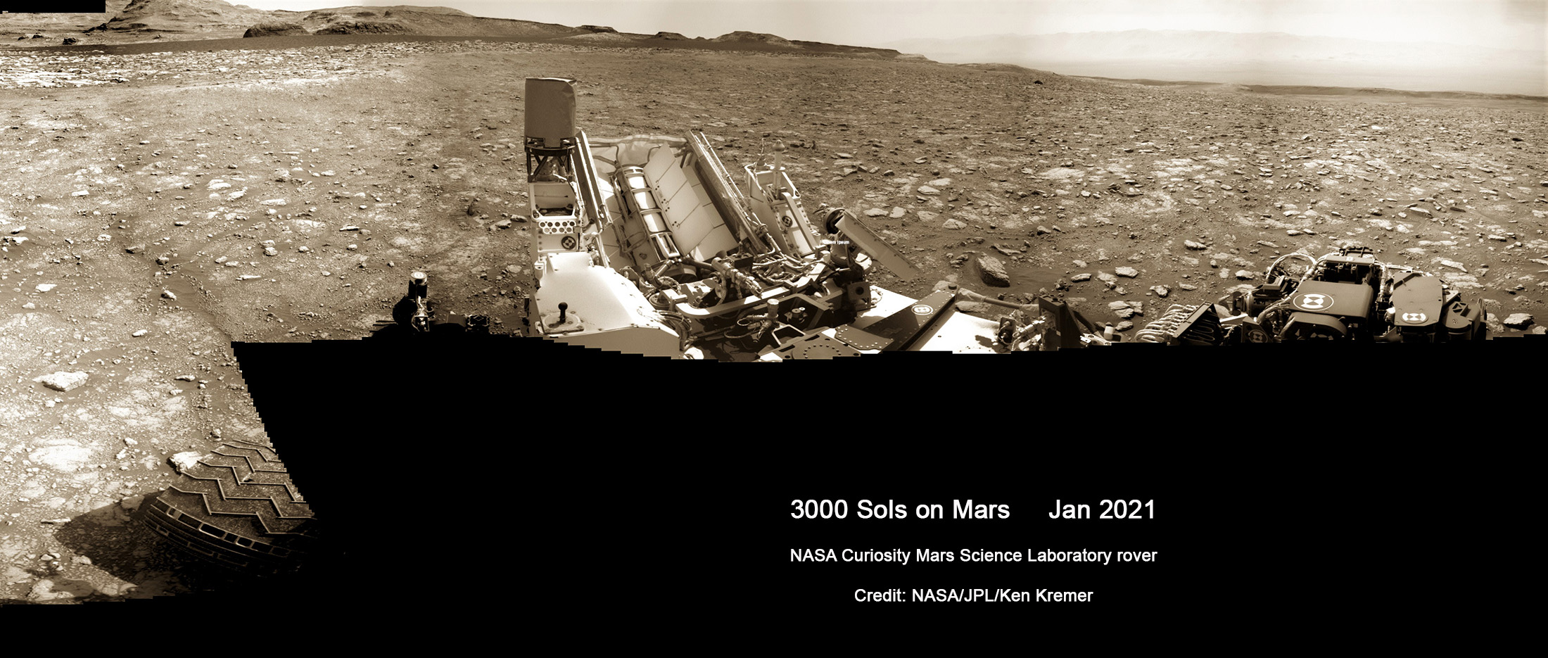 NASA's Curiosity Rover Celebrates 3000 Sols on the Red Planet