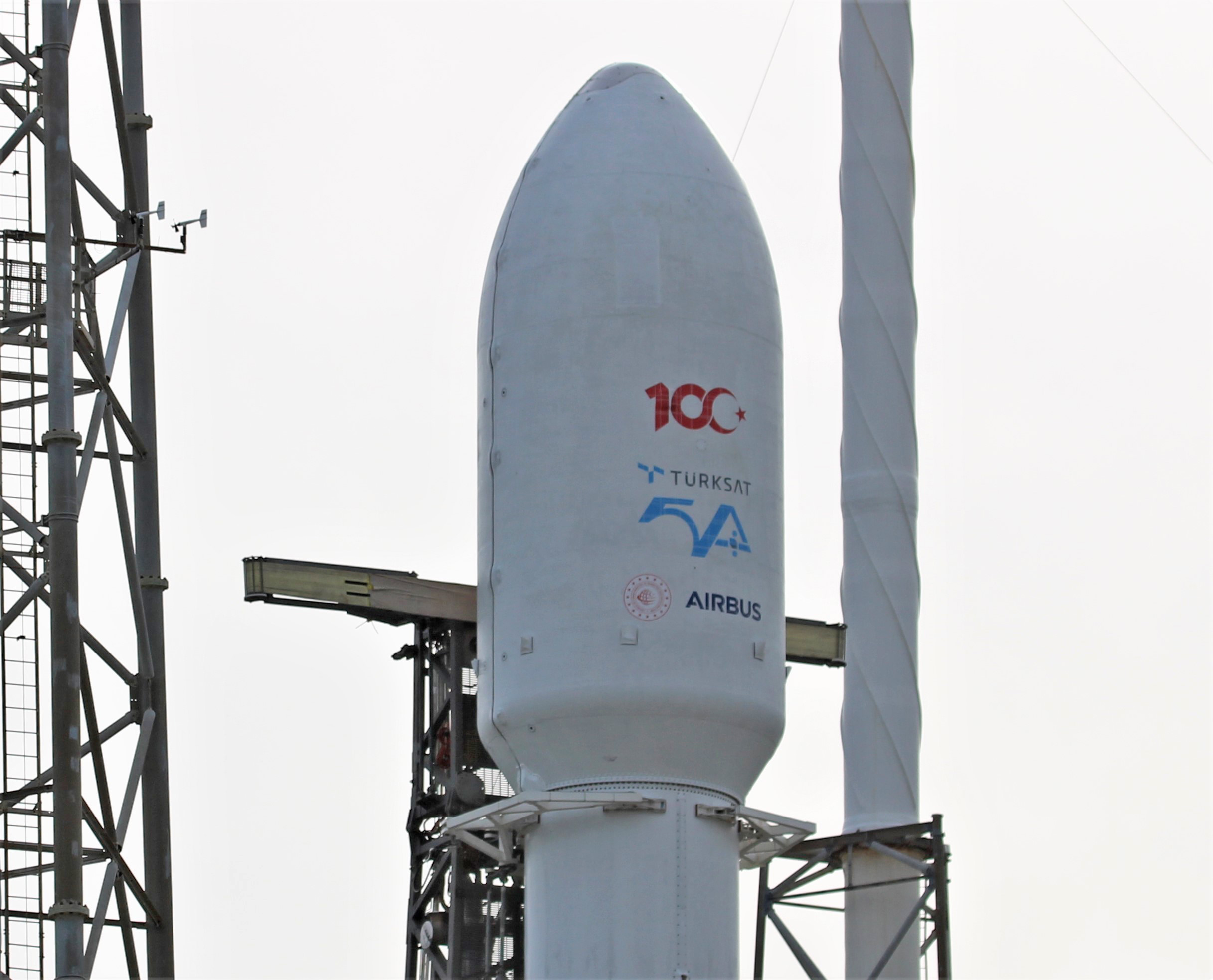 Turkish Türksat 5A Comsat Poised for SpaceX Falcon 9 Nighttime Jan. 7: Watch Live/Photos
