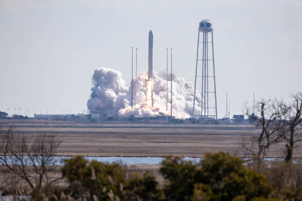 Northrop Grumman Cygnus Cargo Ship Launches to Space Station with 4 Tons NASA Science and Supplies