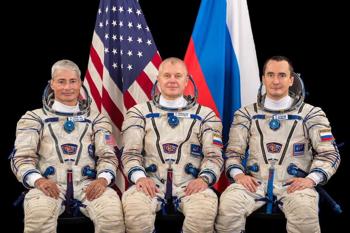 NASA Astronaut Mark Vande Hei Joins Russian Soyuz Crew for April Launch to ISS
