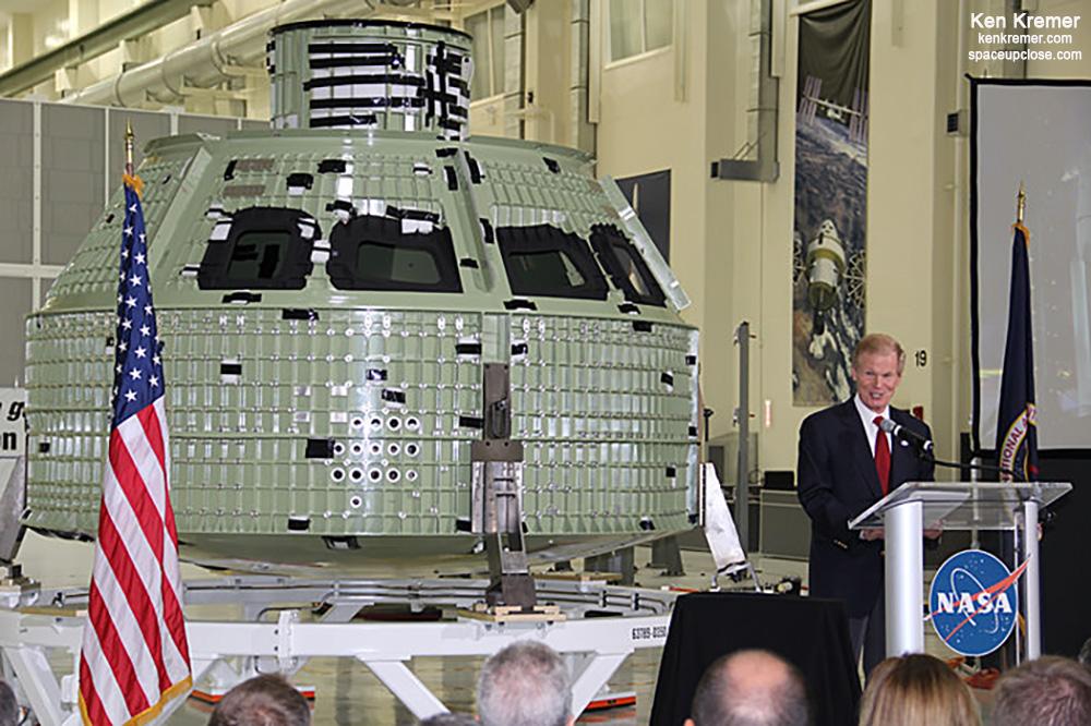 President Biden Nominates former U.S. Senator Bill Nelson as Next NASA Administrator