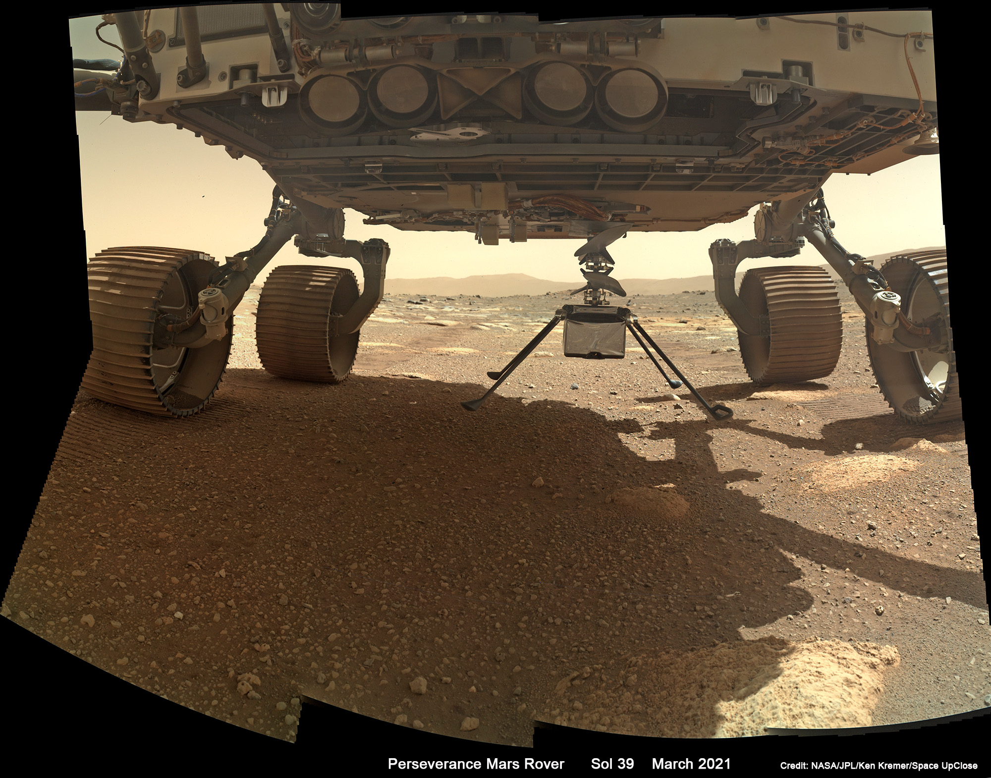 NASA Retargets Ingenuity 1st Flight Test to NET April 11 as Perseverance Rover Images Martian Terrain: Mosaics