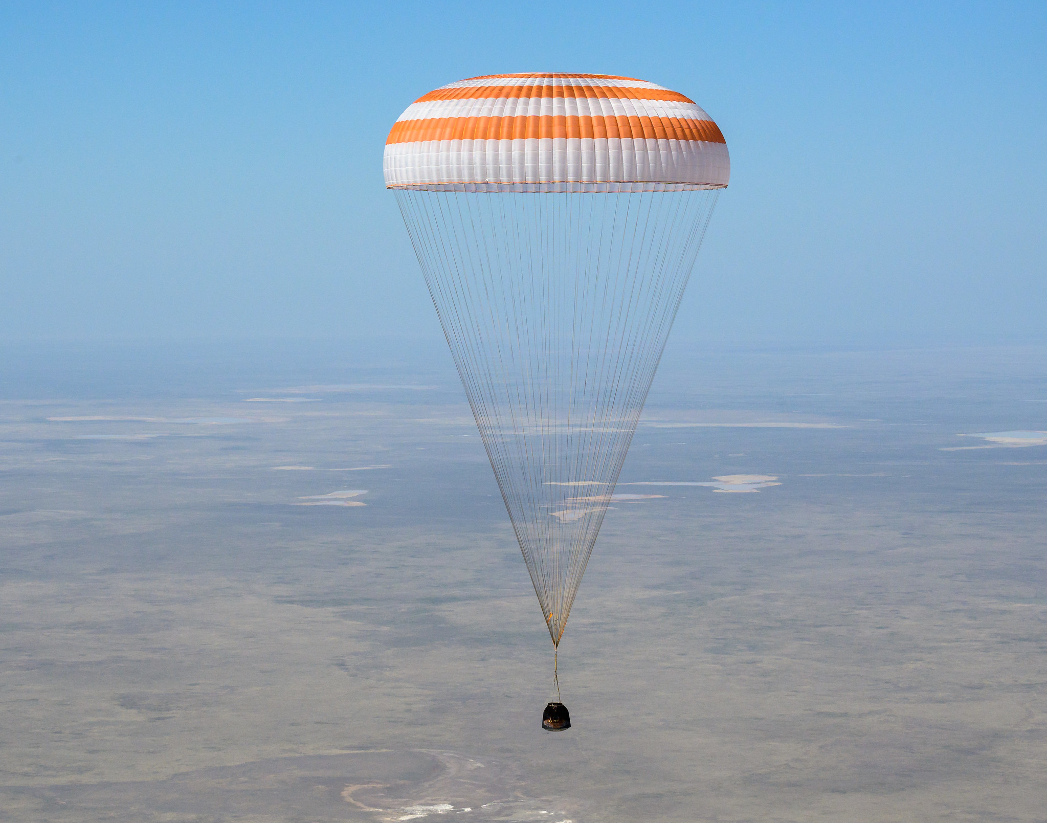 Russian American Soyuz Trio with NASA's Kate Rubins Returns Safely to Earth after 6 Month Stay Aboard International Space Station