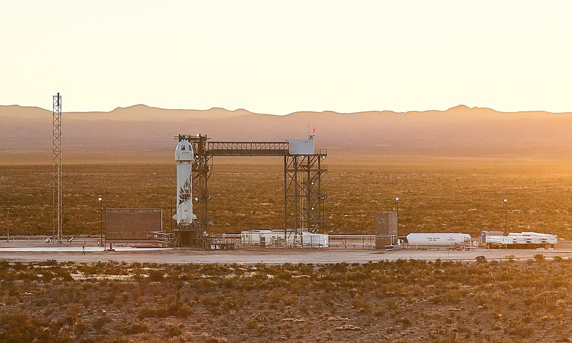 Blue Origin to Conduct Astronaut Rehearsal Test on New Shepard Launch April 14: Watch Live