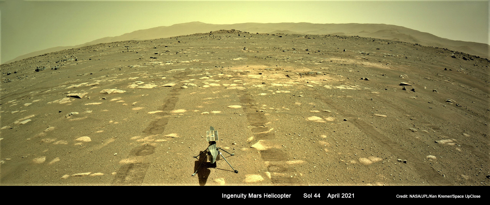 Ingenuity Helicopter Survives 1st Frigid Martian Night Alone and Readies for Historic Flight!