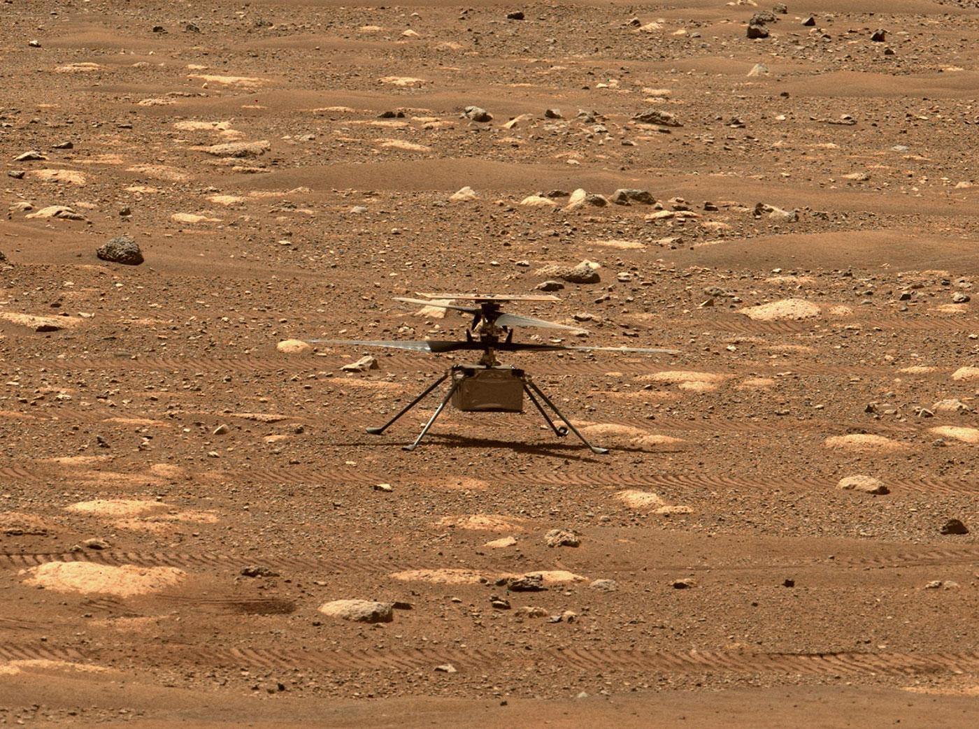 Mars Chopper Ingenuity Unlocks Rotor Blades, 1st Test Flight Delayed to NET April 14