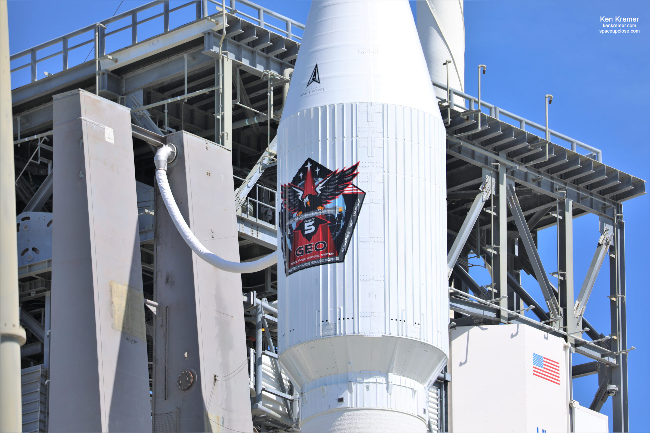 ULA Retargets Atlas V Launch to May 18 after LOX Issue Scrubs Space Force Early Missile Warning Satellite: Watch Live/Photos