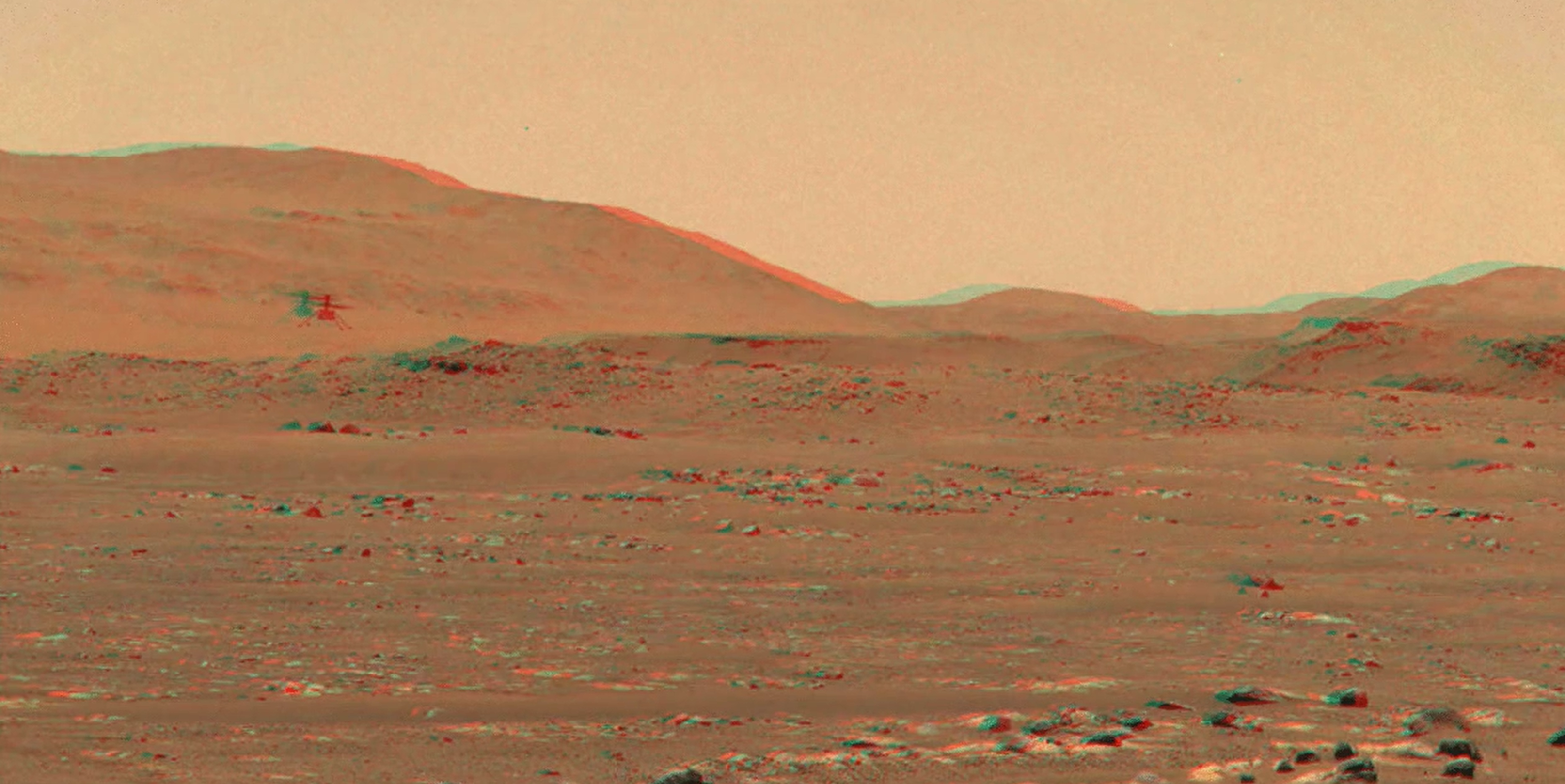 See NASA's Ingenuity Helicopter Fly over Mars in Spectacular 3D Video