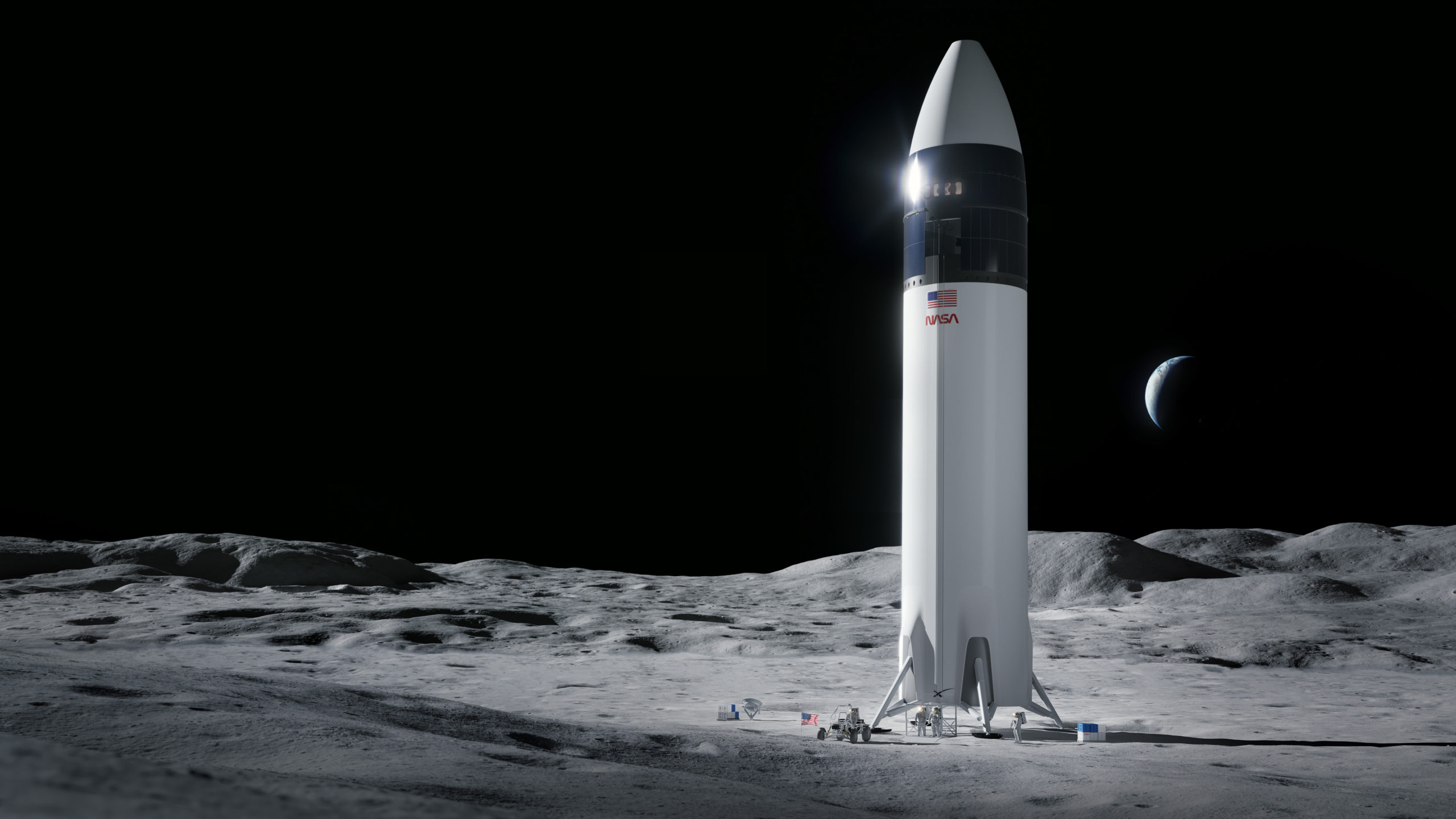 NASA Selects SpaceX to Develop Human Landing System for Artemis Moon Missions, Loser Appeal