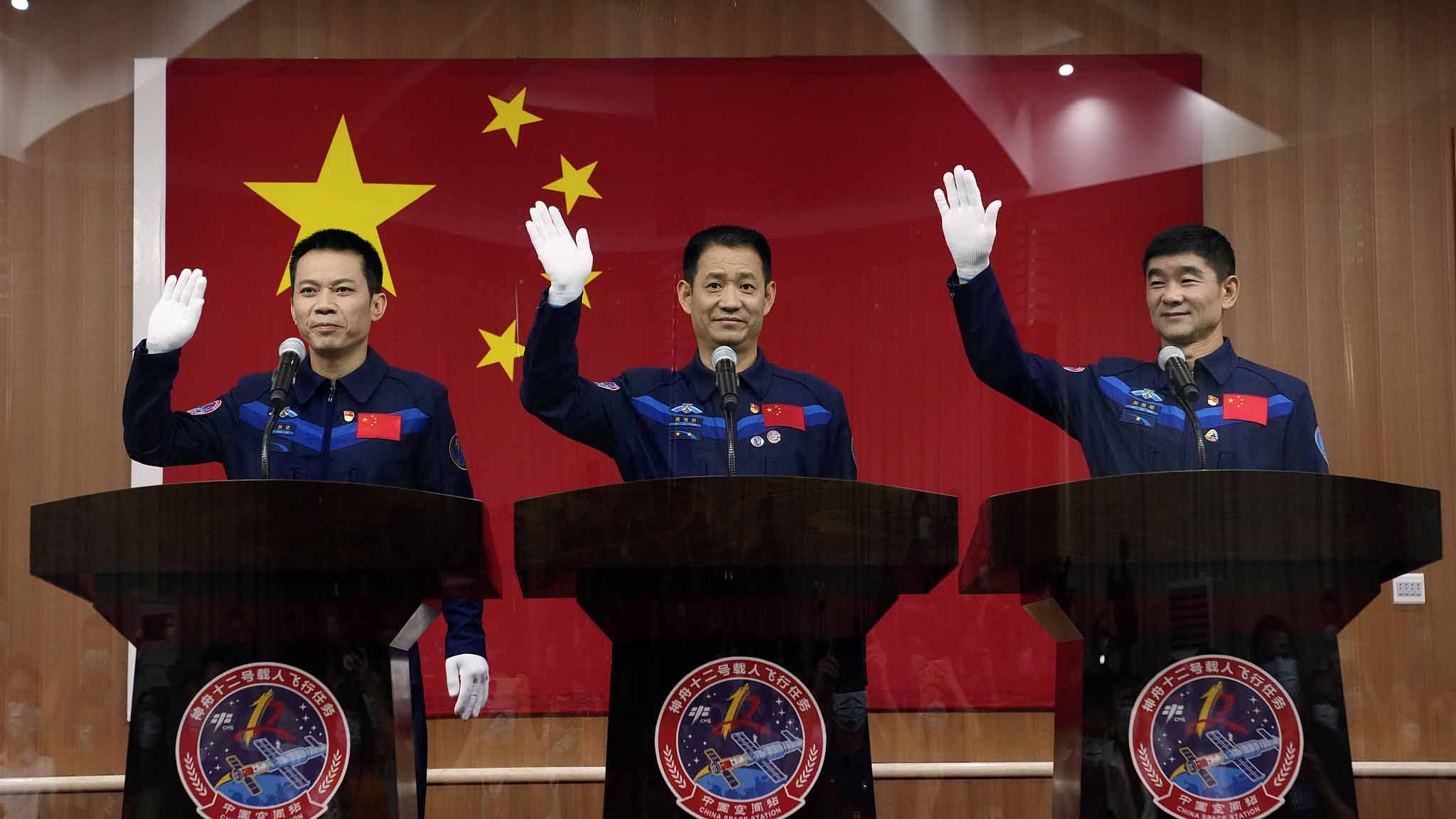China Names 3 Astronauts for Next Human Spaceflight Mission on Shenzhou 12 Launching June 17 to New Space Station