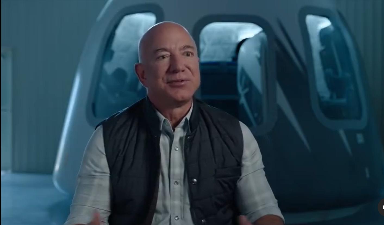 Jeff Bezos to Fly on Blue Origin's 1st New Shepard Crew Flight to Space