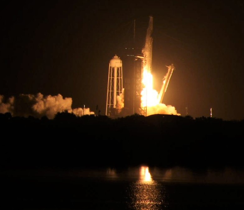 SpaceX Launches Cargo Dragon Packed with NASA Science to Space Station on Overnight Flight from Florida