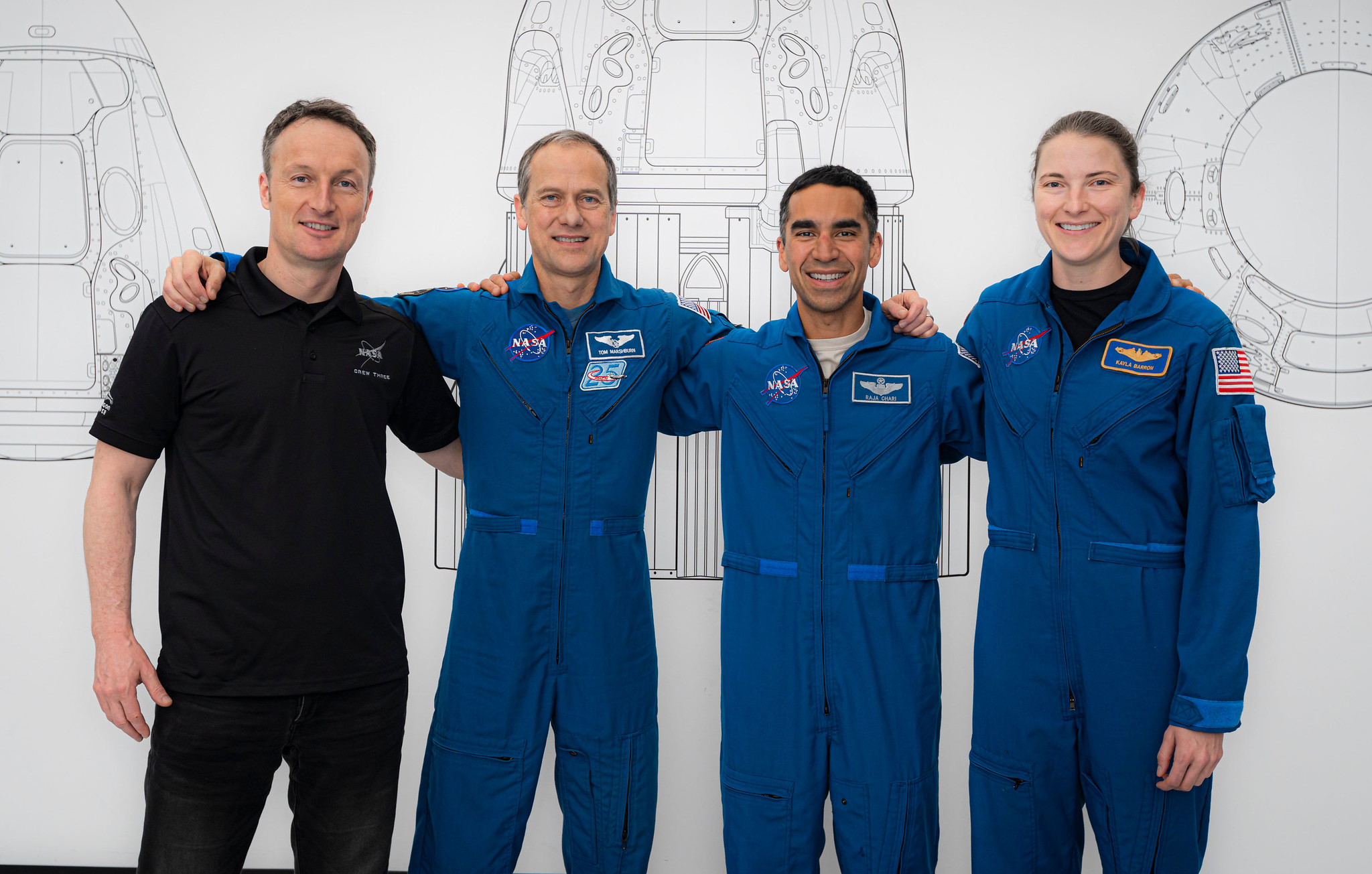 NASA SpaceX Crew-3 Astronaut Liftoff to ISS Retargeted to Halloween Oct. 31