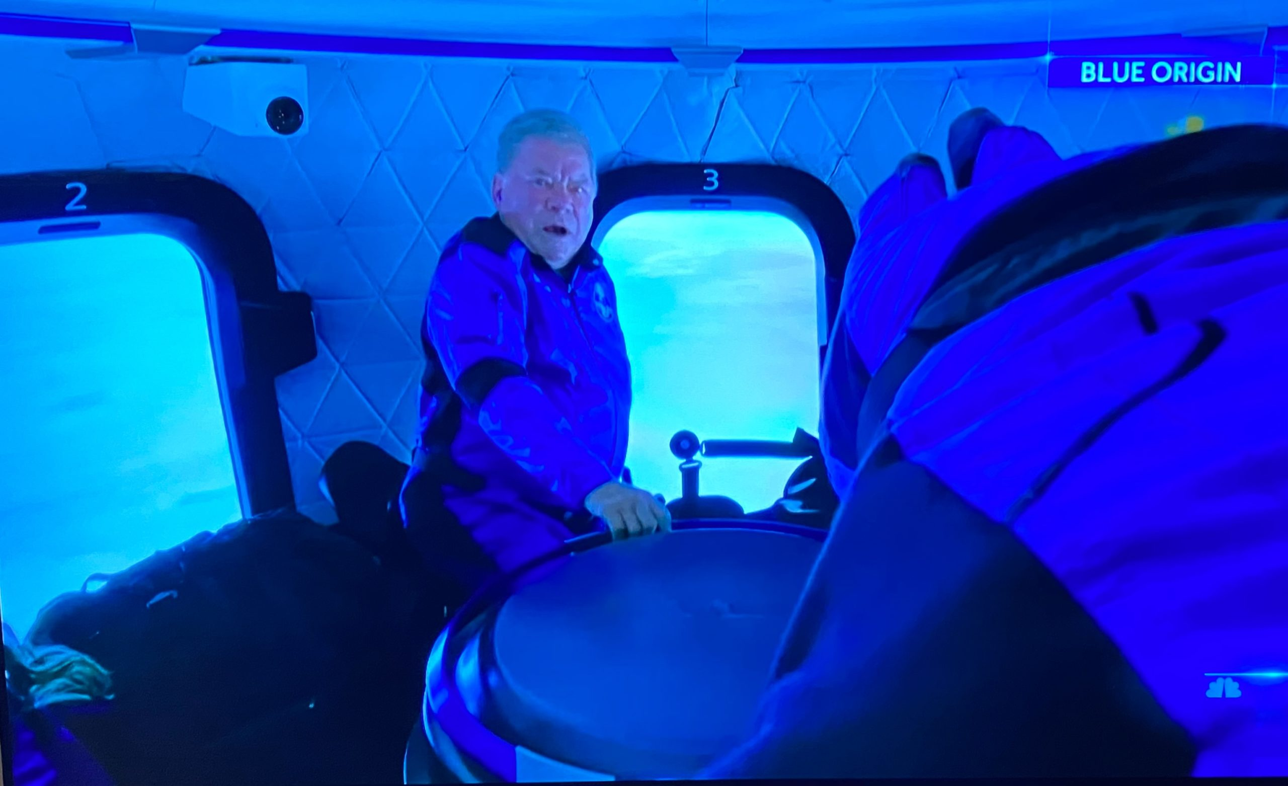 Star Trek's William Shatner Rides Emotional Journey to Final Frontier as Oldest Human and Profoundly Changed